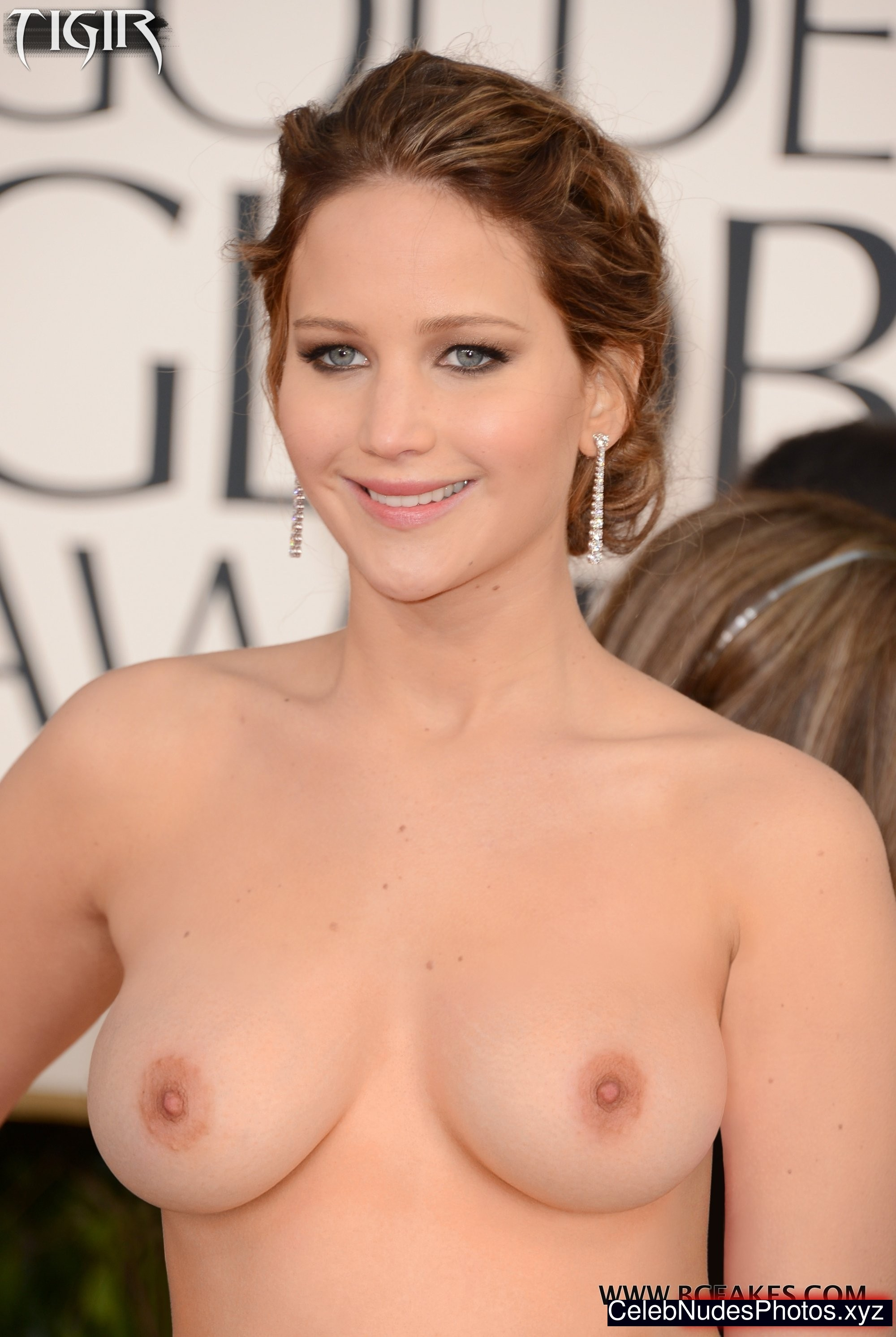 Jennifer Lawrence Naked Celebrity sexy 7
