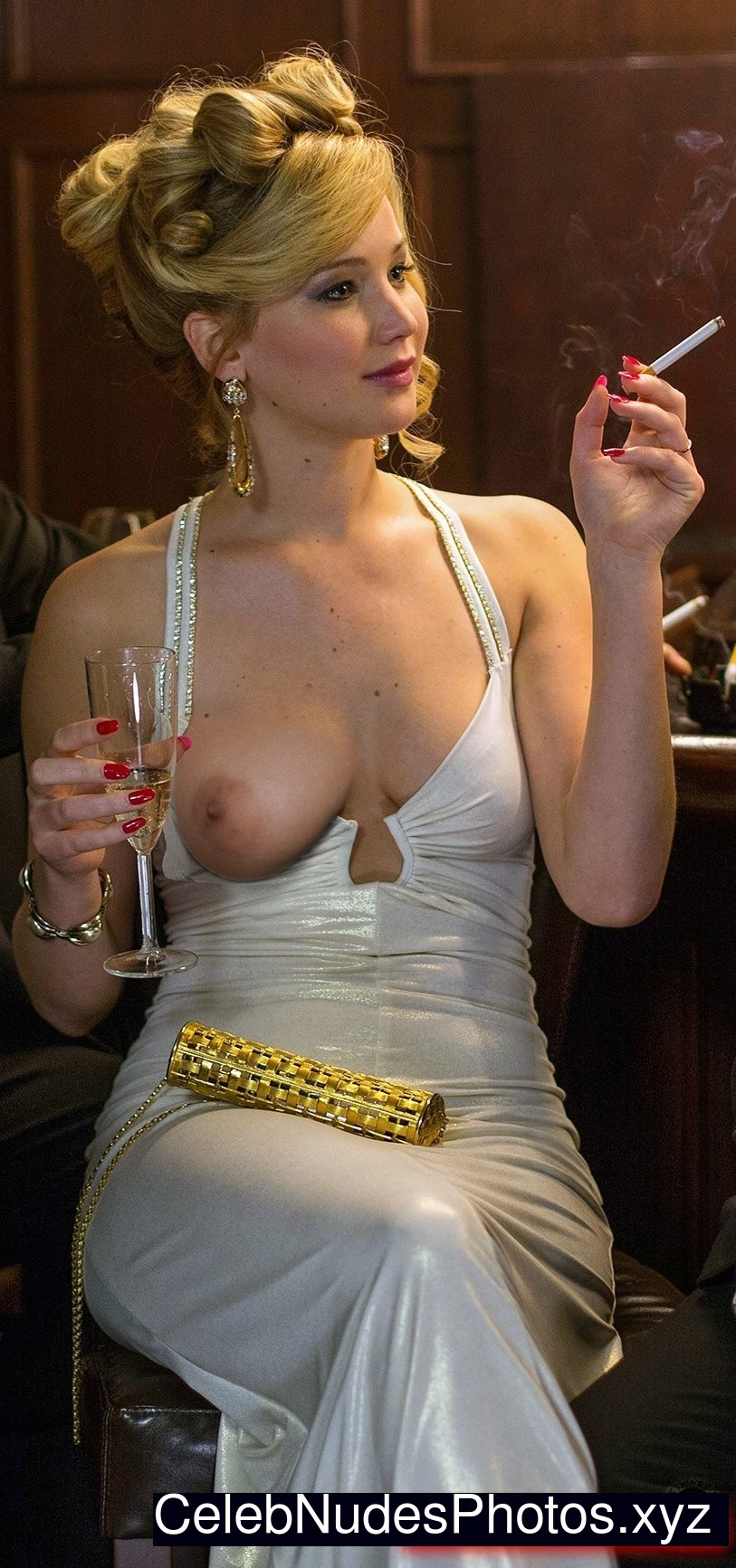 Jennifer Lawrence Celebrities Naked sexy 14