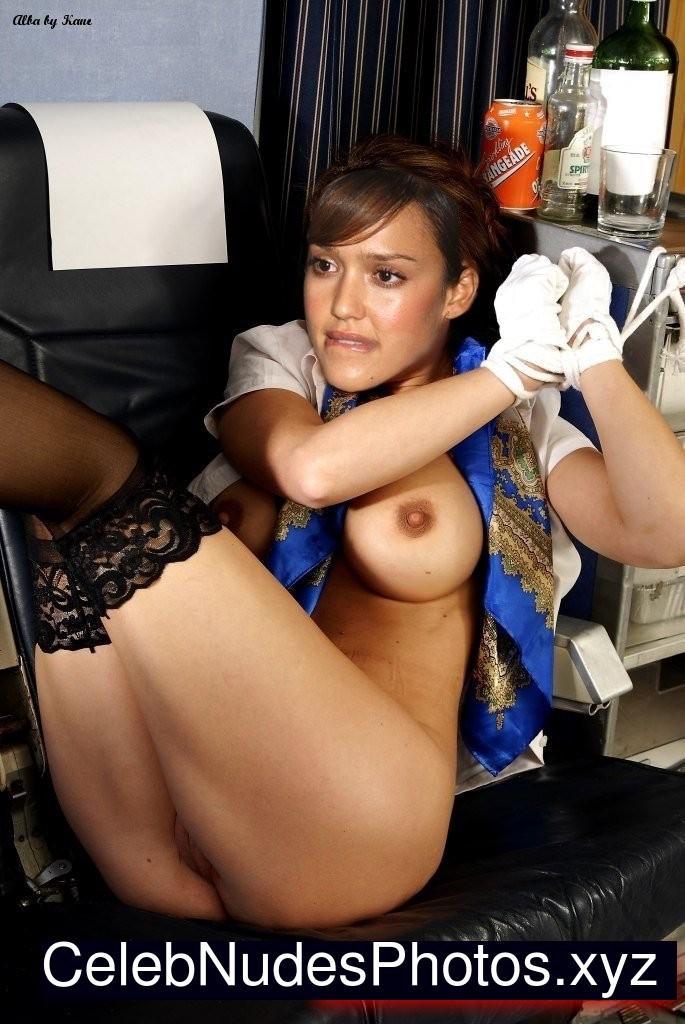 Jessica Alba Celebrities Naked sexy 14