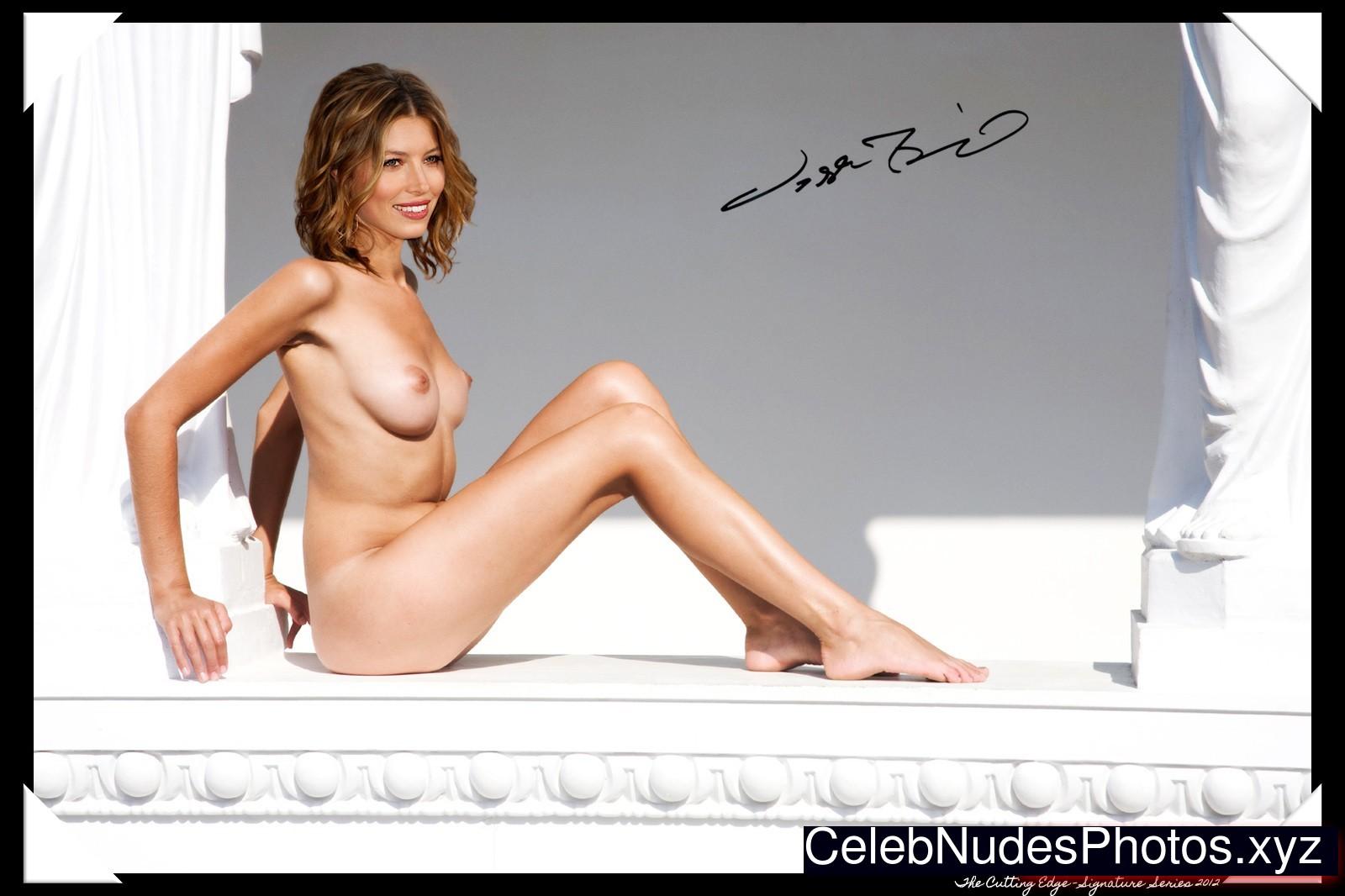 Jessica Biel Celebrity Leaked Nude Photo sexy 14