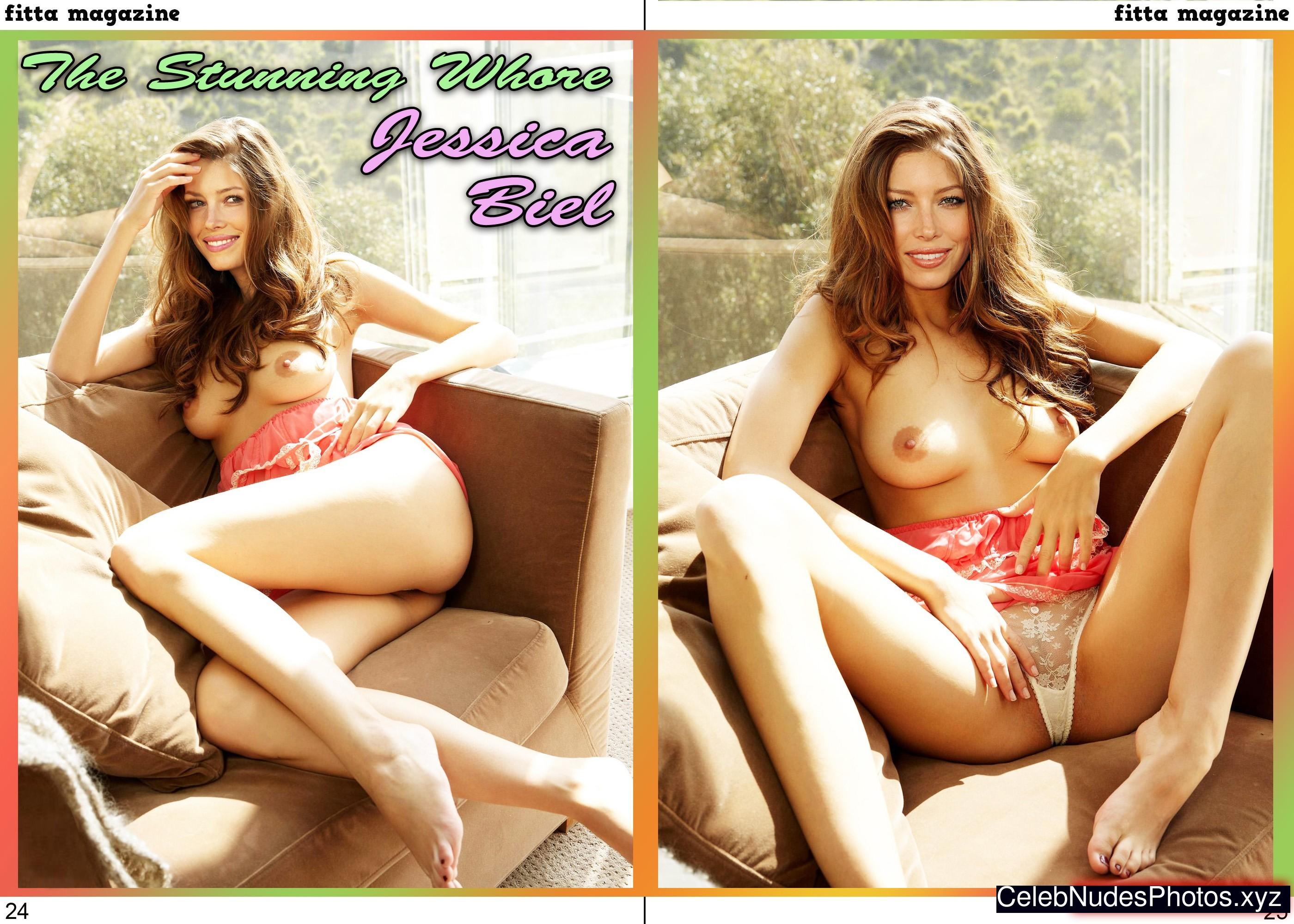 Jessica Biel Naked Celebrity Pic sexy 22