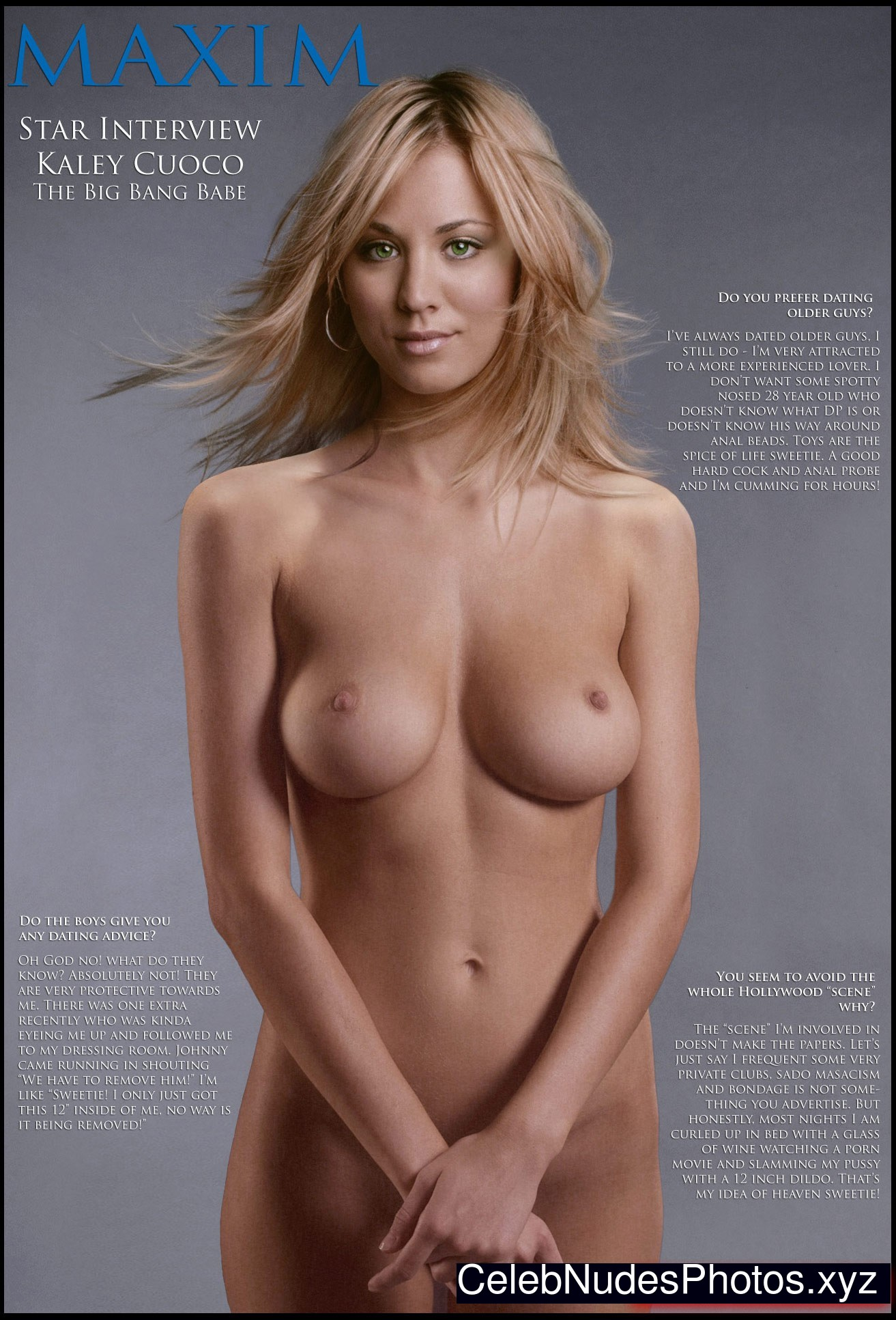 Cuoco naked kaley nude