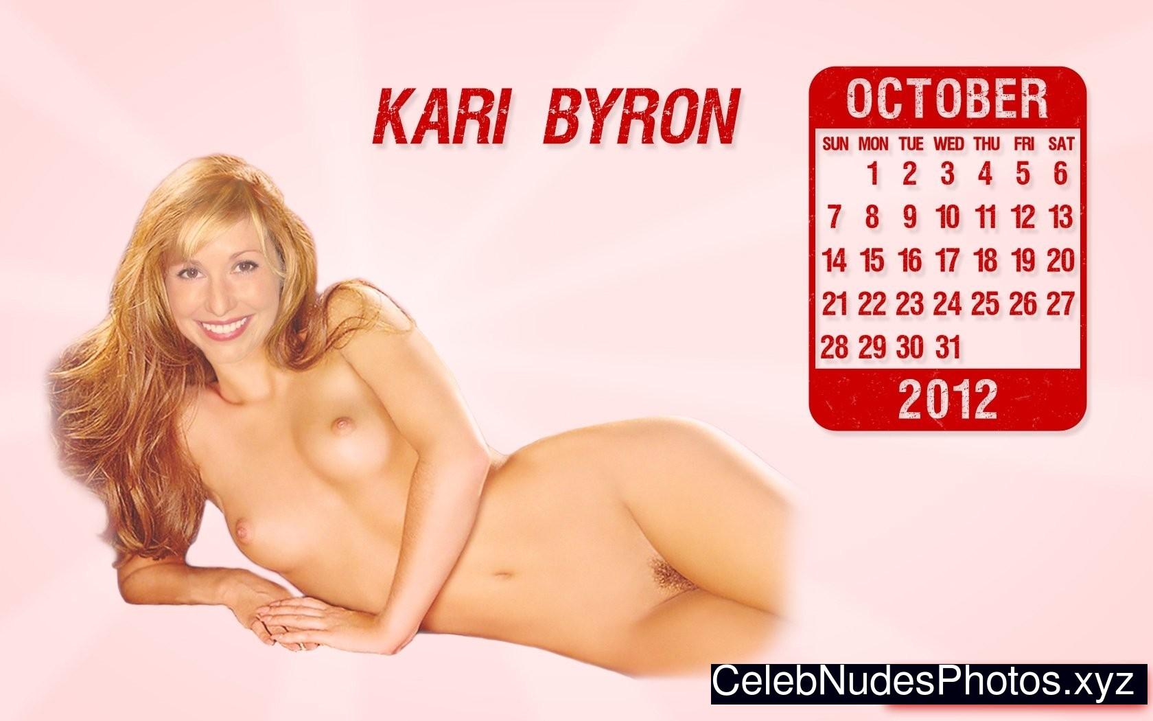 kari byron naked
