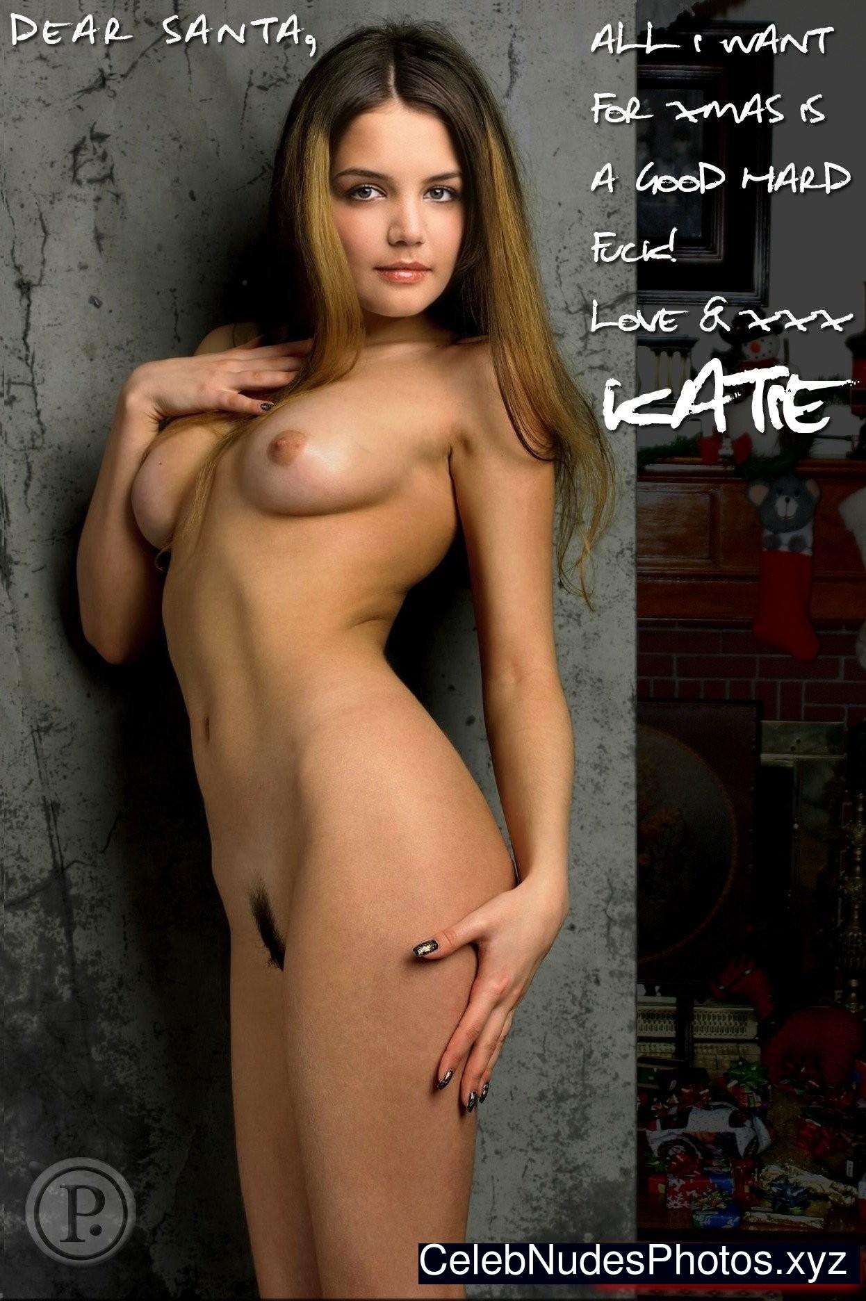 sexy katie holmes fake