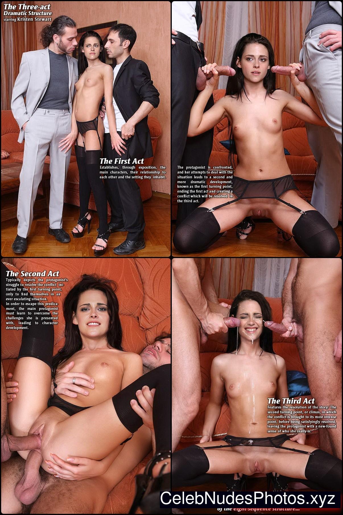 Kristen Stewart Naked Celebrity sexy 19