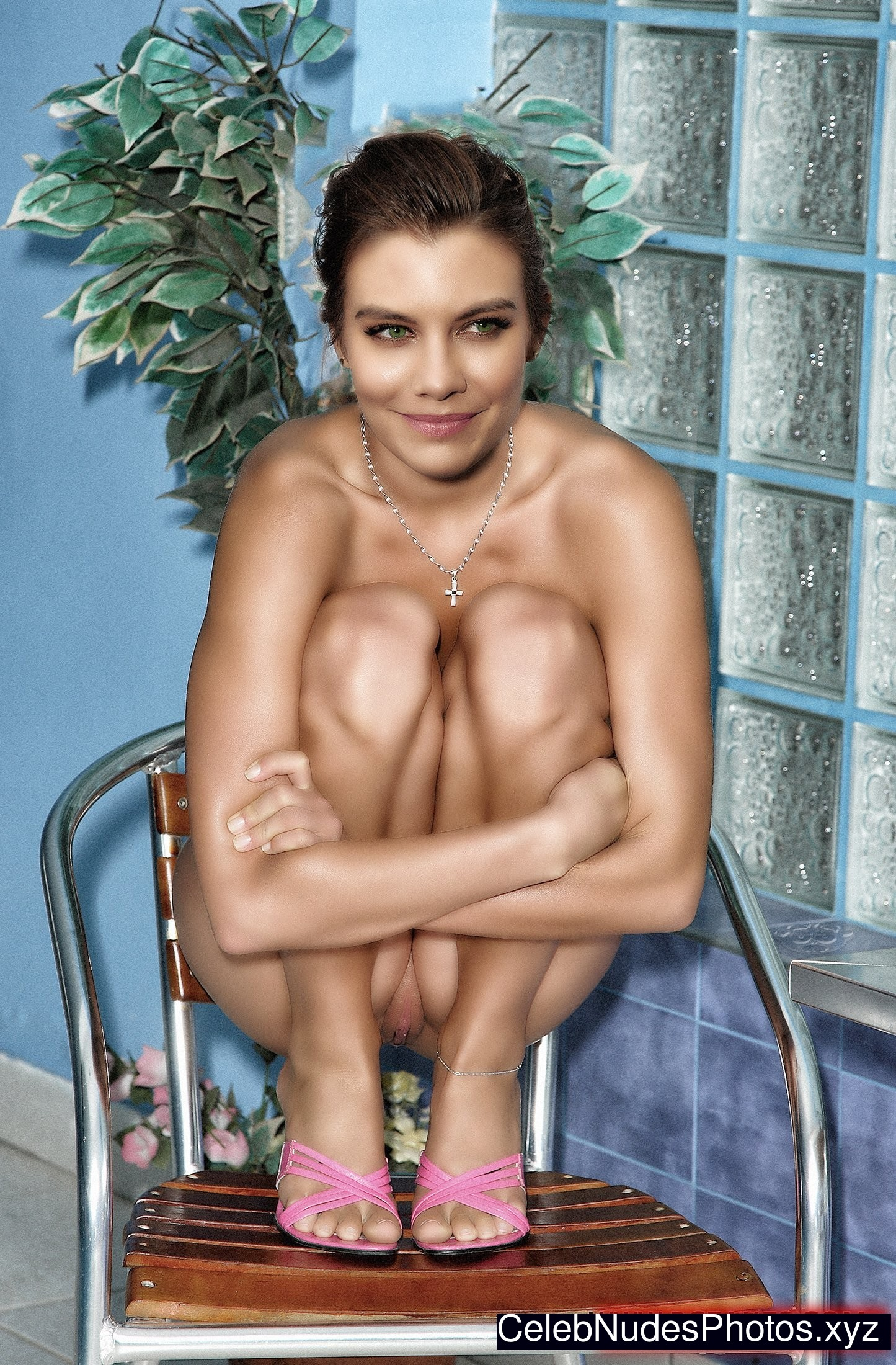 Lauren Cohan Naked Celebrity Pic sexy 3