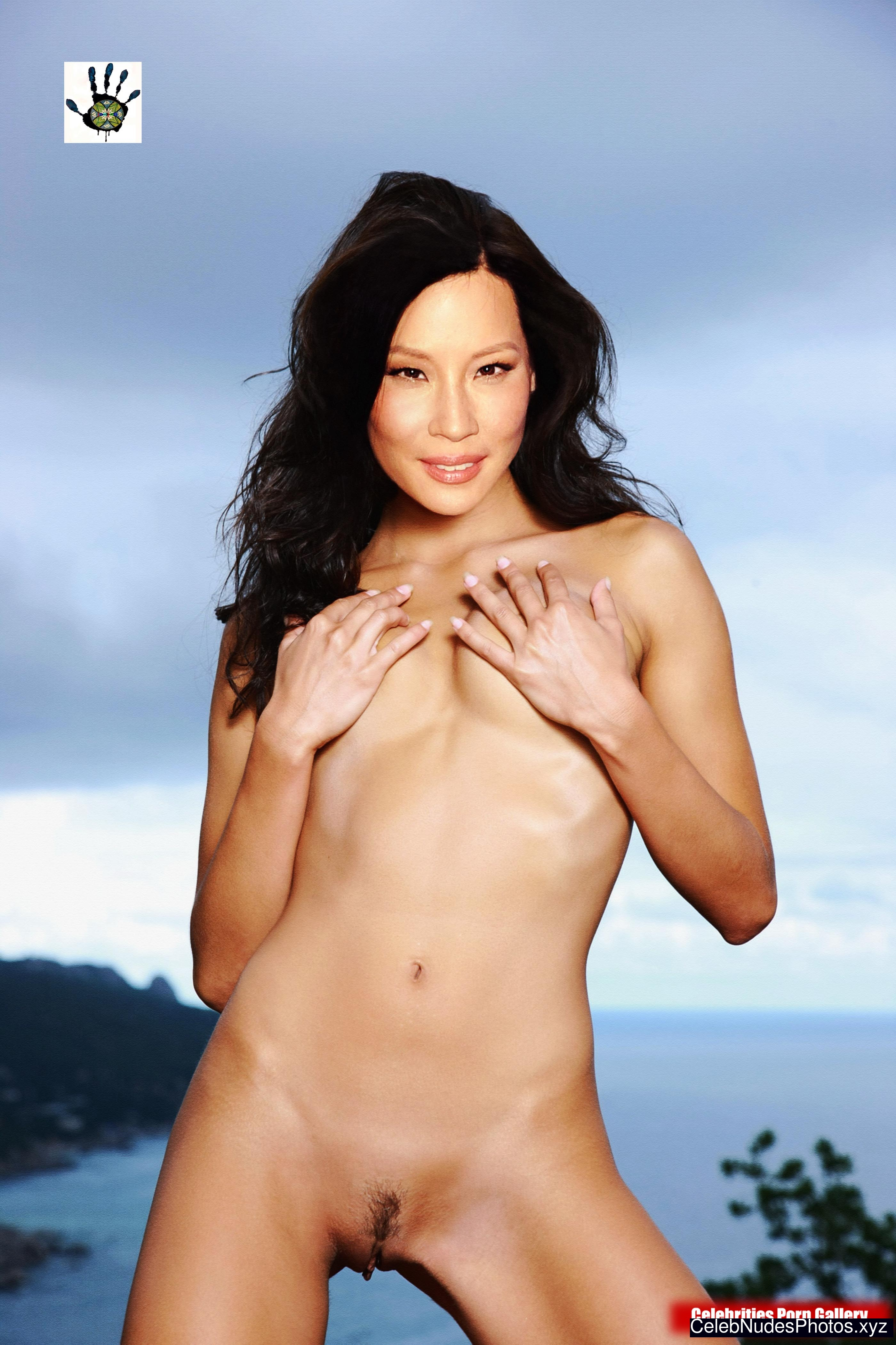 Lucy Liu Nude Celebrity Picture sexy 6
