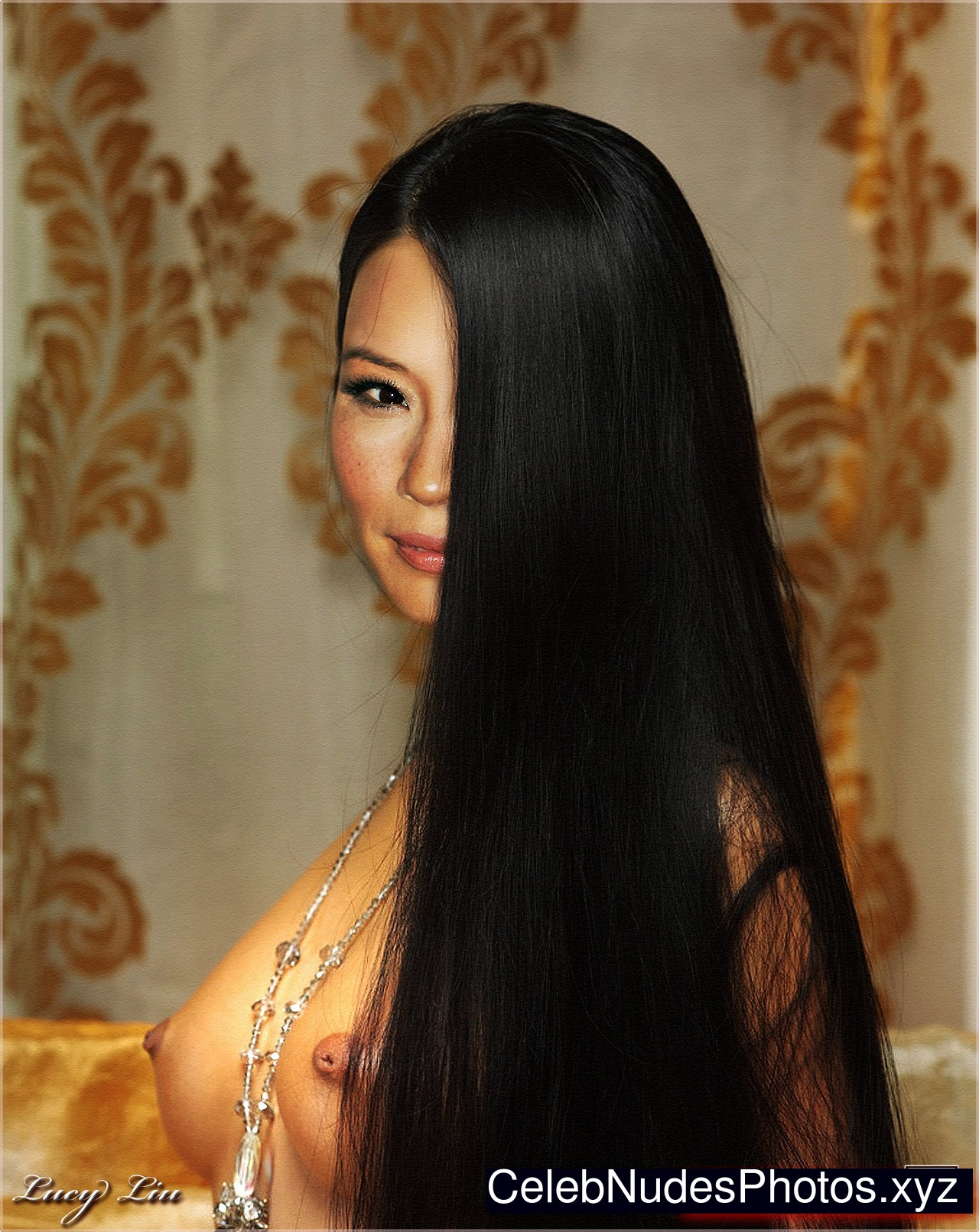 Lucy Liu Celebrity Leaked Nude Photo sexy 13