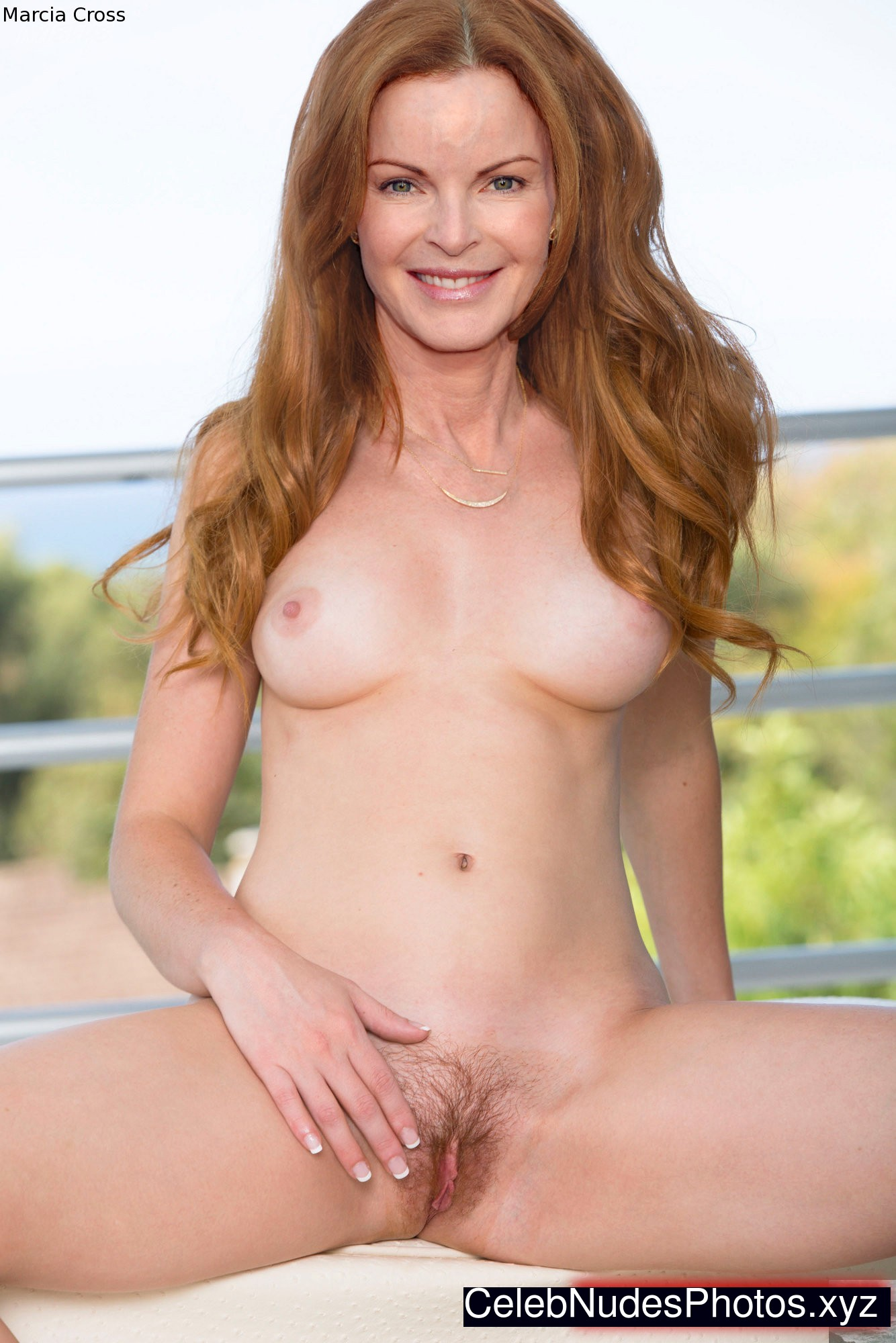 naked marcia cross