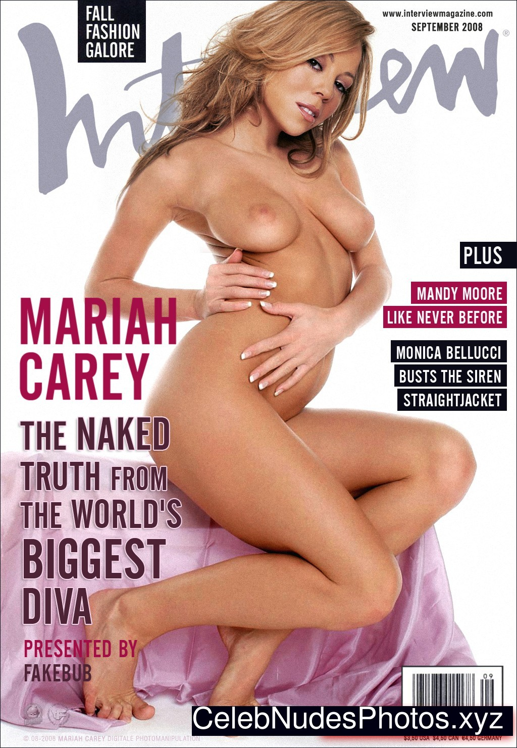 mariah carey nude real