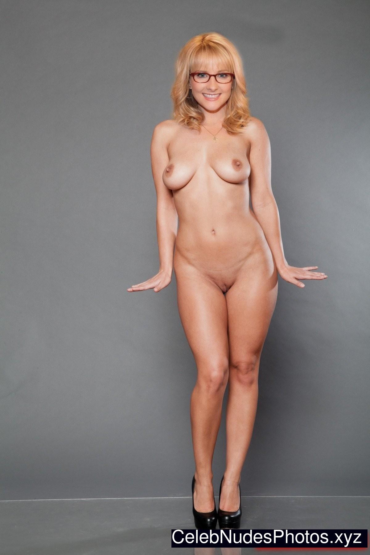 Melissa rauch fake nudes have