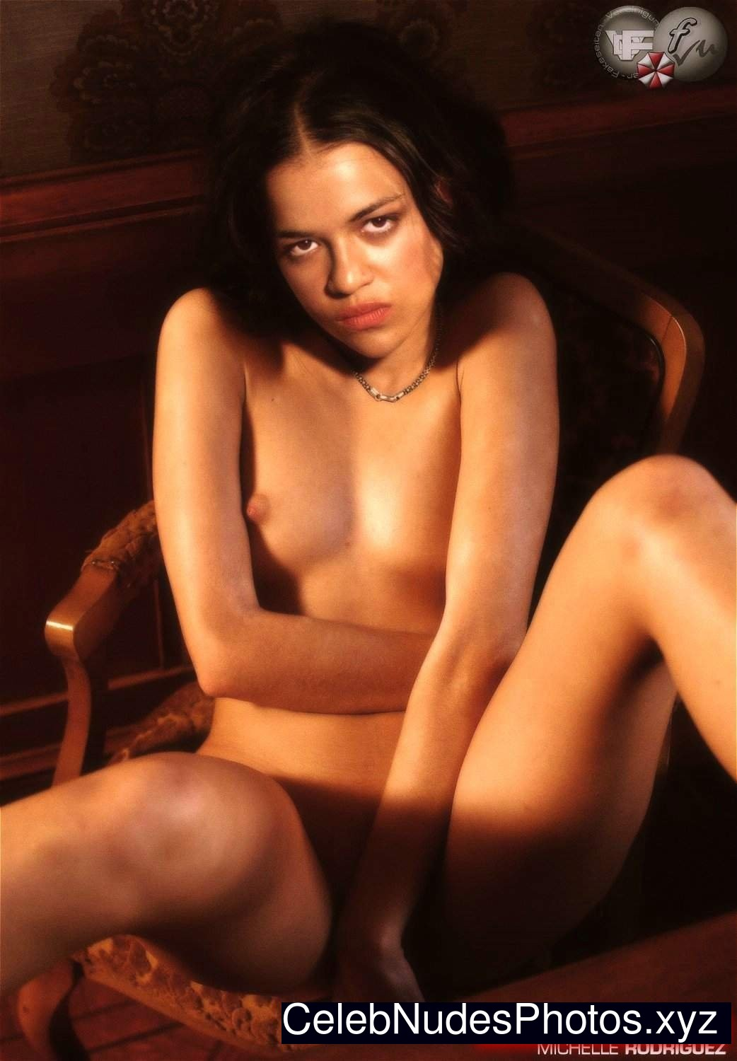 Michelle Rodriguez Celebrity Leaked Nude Photo sexy 9