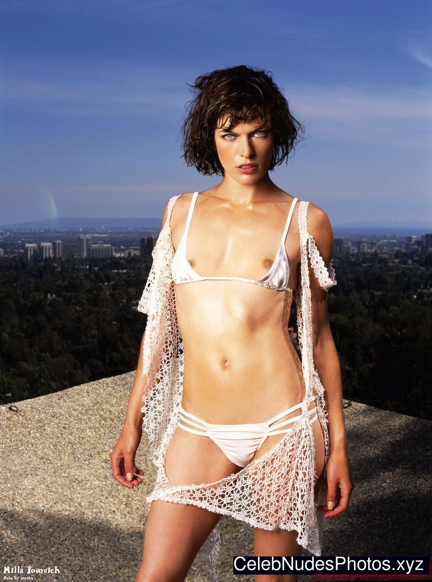 milla jovovich blowjob naked