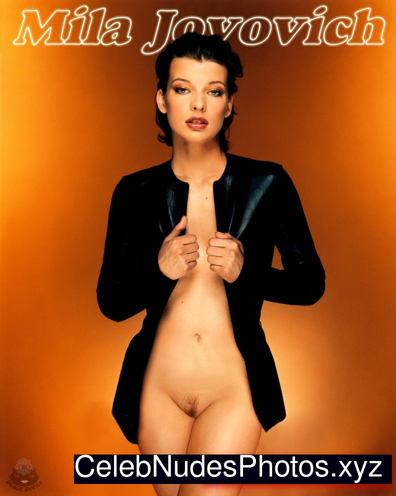 sexy images of milla jovovich naked