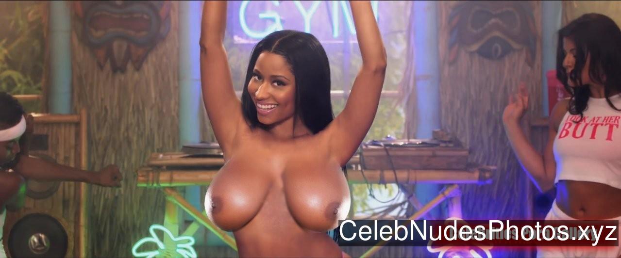 Nicki Minaj Naked Celebrity Pic sexy 1