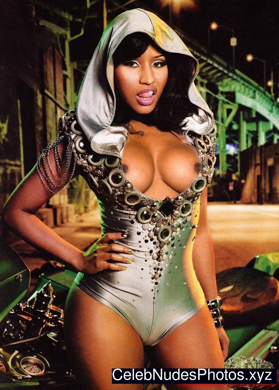 Nicki Minaj naked celebritys