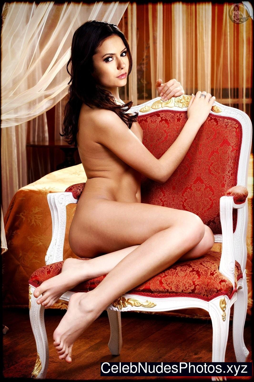Nina Dobrev celebrities naked