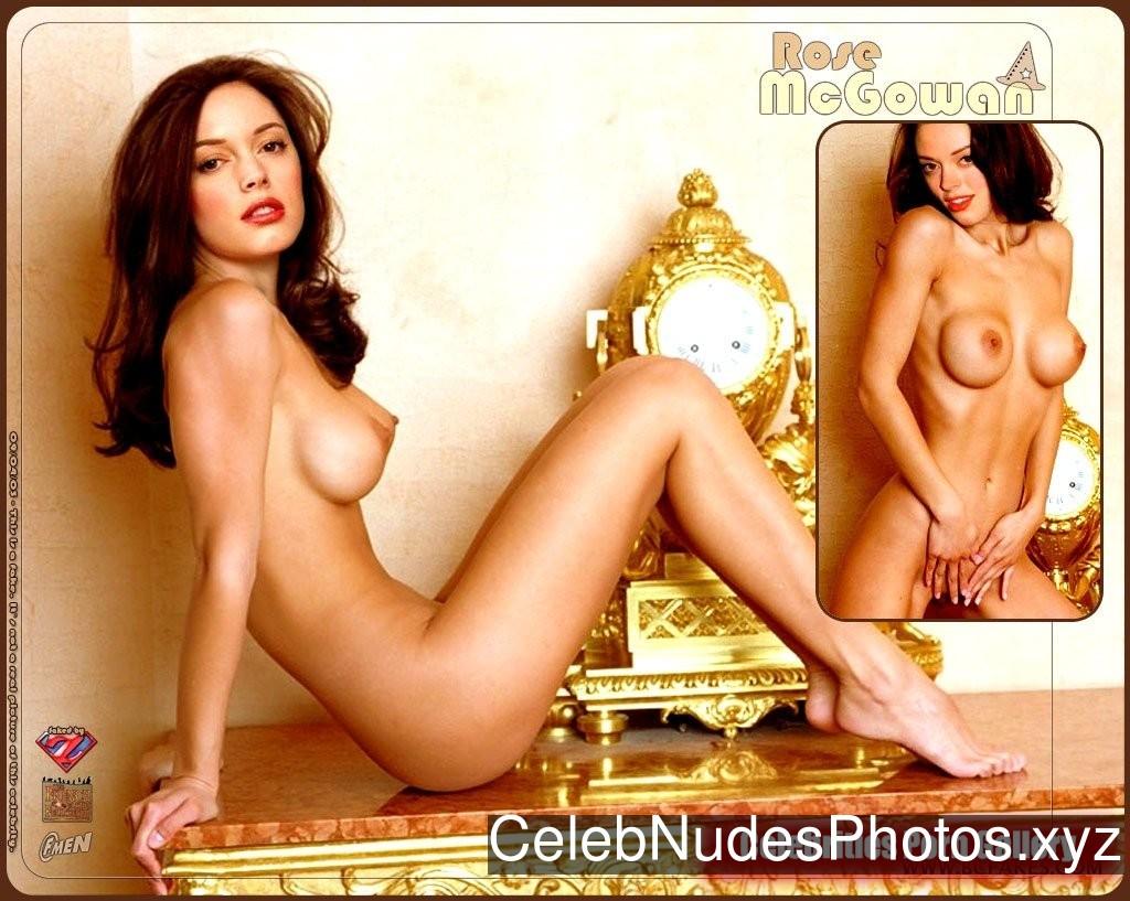 Rose McGowan naked celebrities