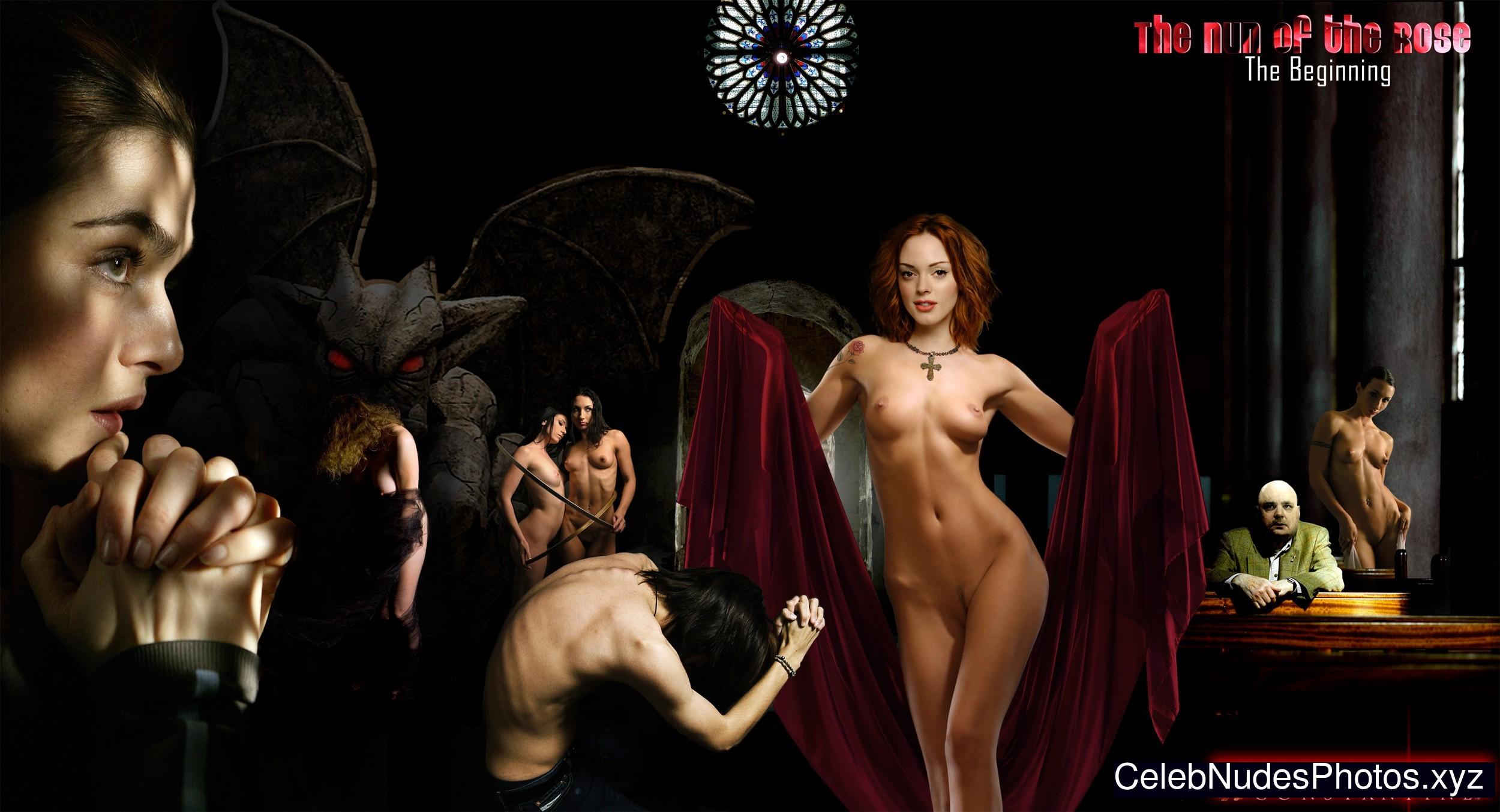 free pics of rose mcgowan naked