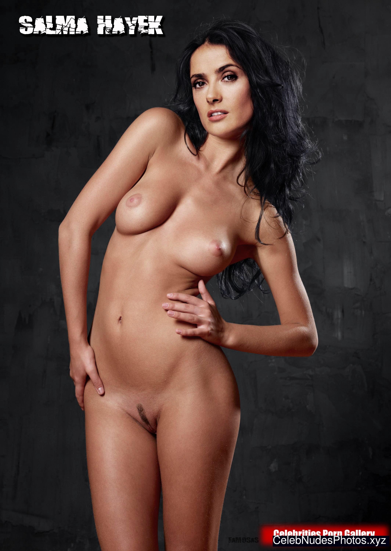 Salma Hayek Naked Celebrity Pic sexy 8