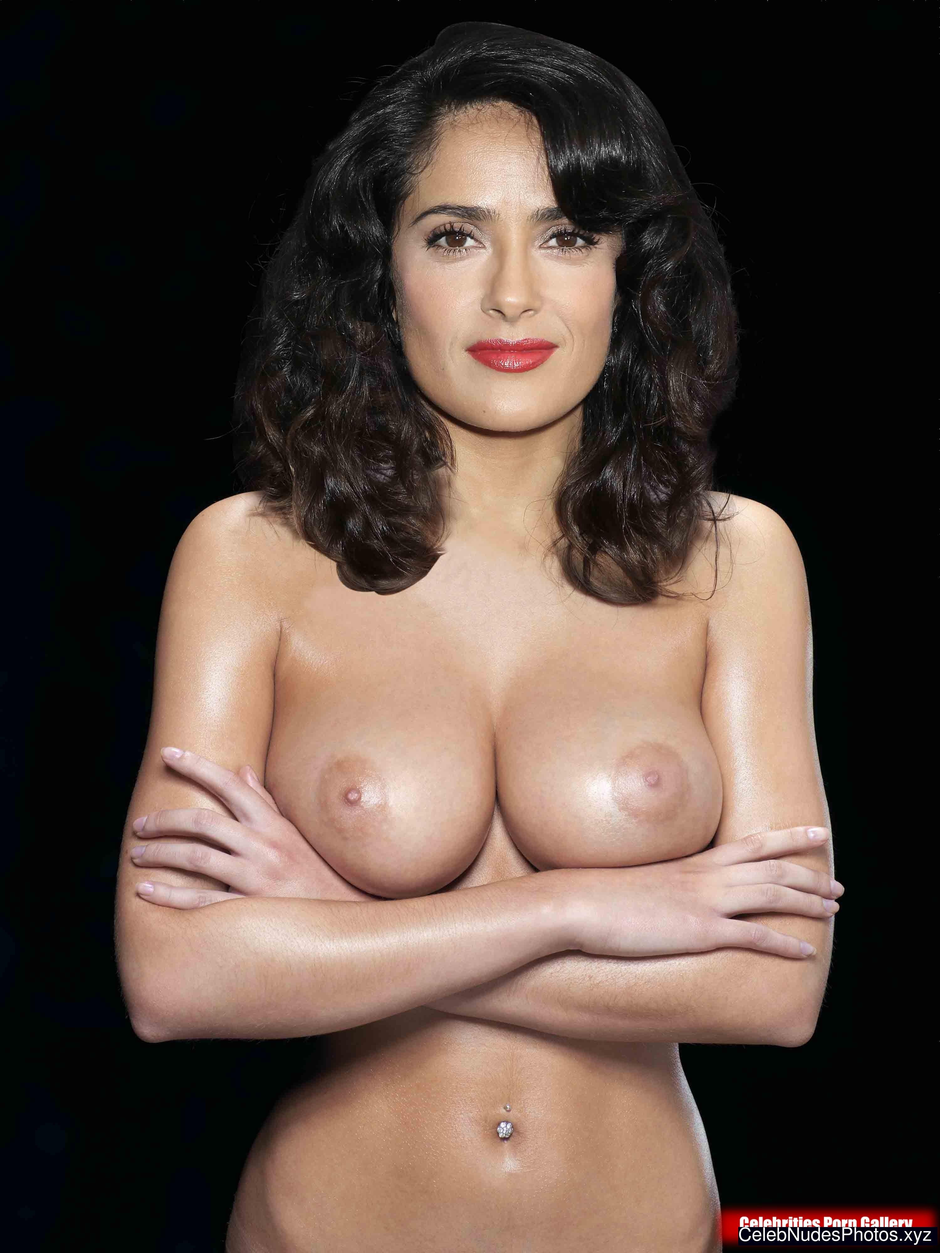 Salma Hayek Nude Celeb Pic sexy 23