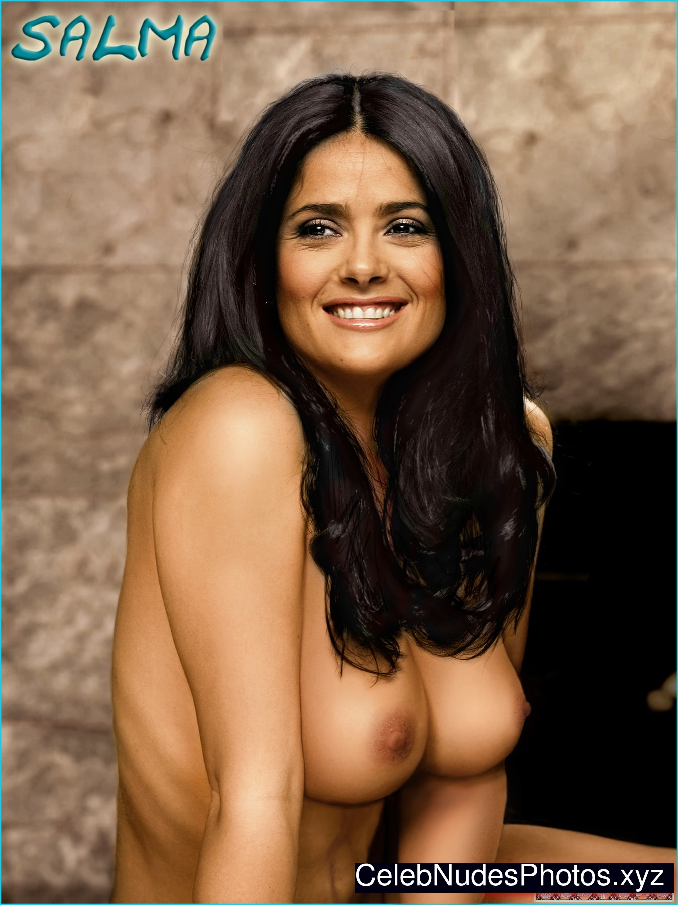 celebrities nude Salma hayek