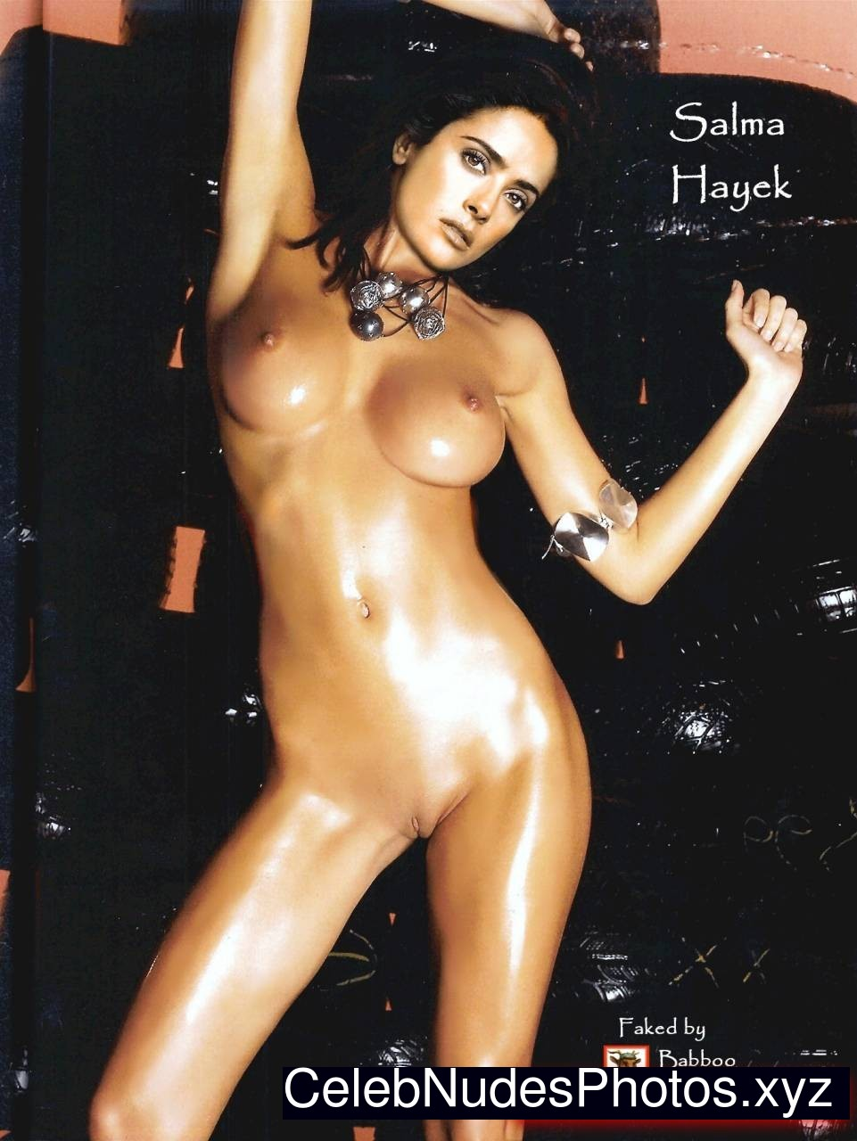 Salma Hayek Celebrities Naked sexy 10