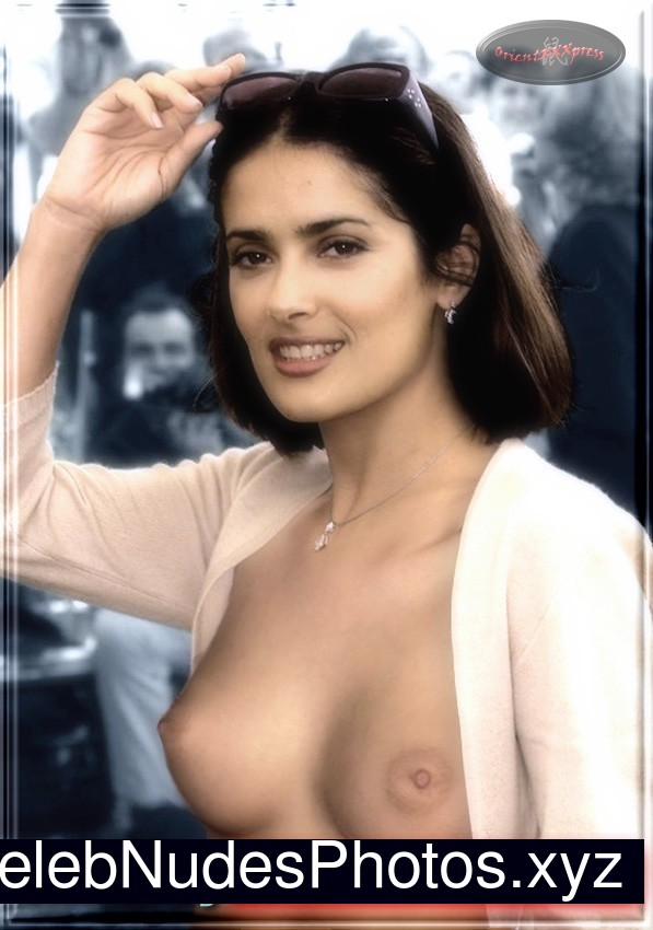 Salma Hayek Newest Celebrity Nude sexy 16