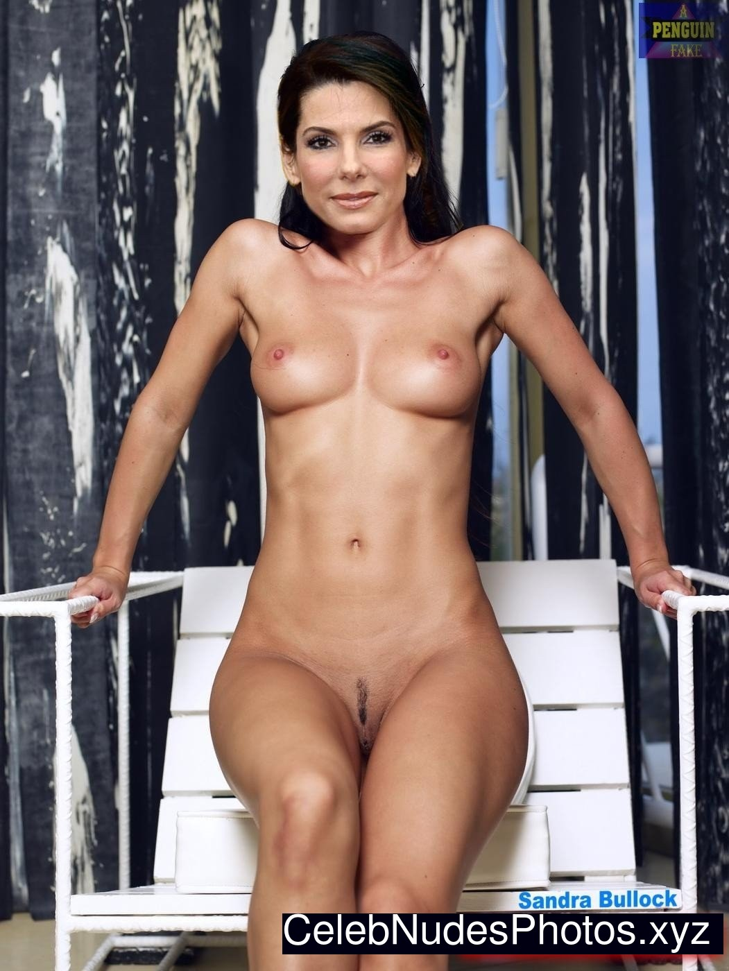hairest female nude sandra bullock