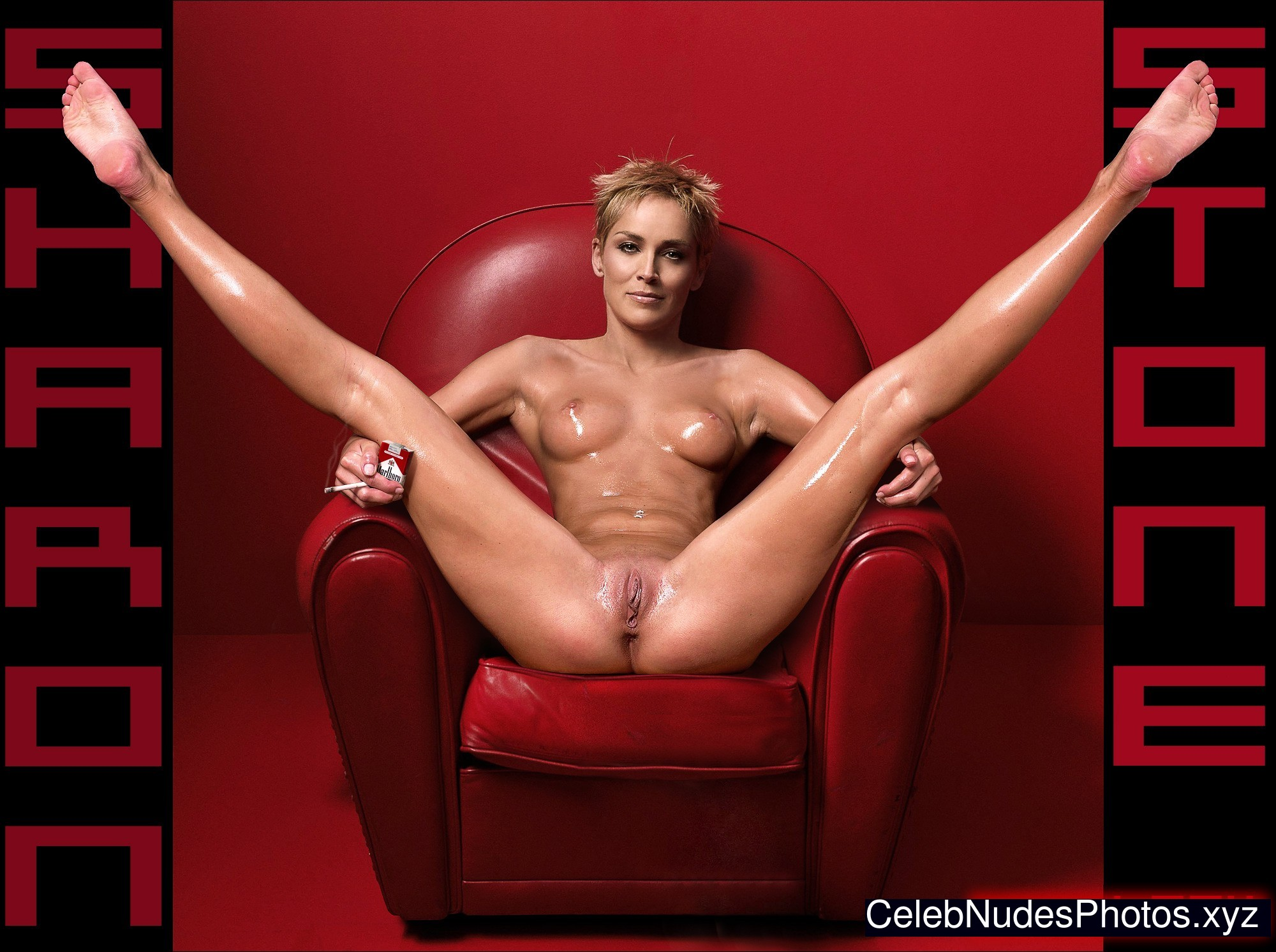 sharon stone real nude