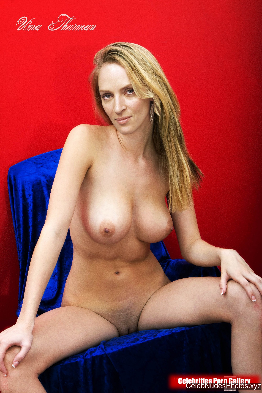Uma Thurman Naked Celebrity sexy 4