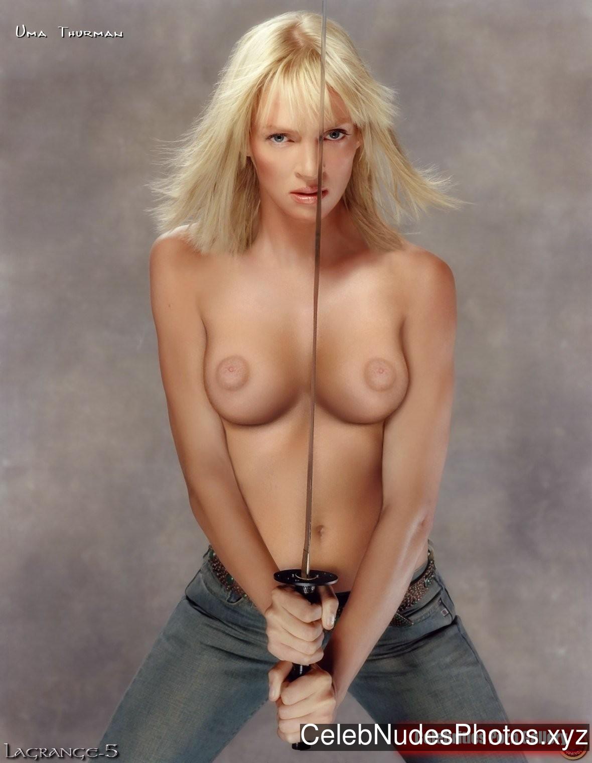 Uma Thurman Best Celebrity Nude sexy 8