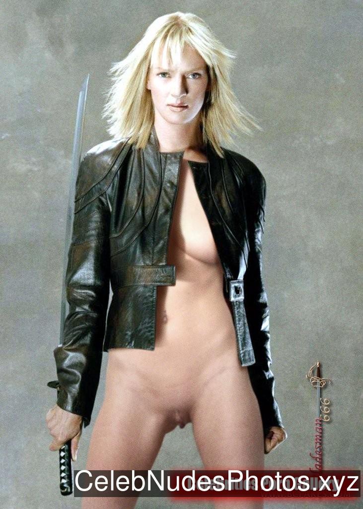 Uma Thurman Celeb Nude sexy 17