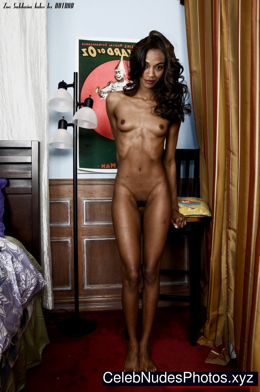 Zoe Saldana Nude Photos 117
