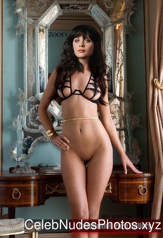Zooey Deschanel Famous Nude sexy 9