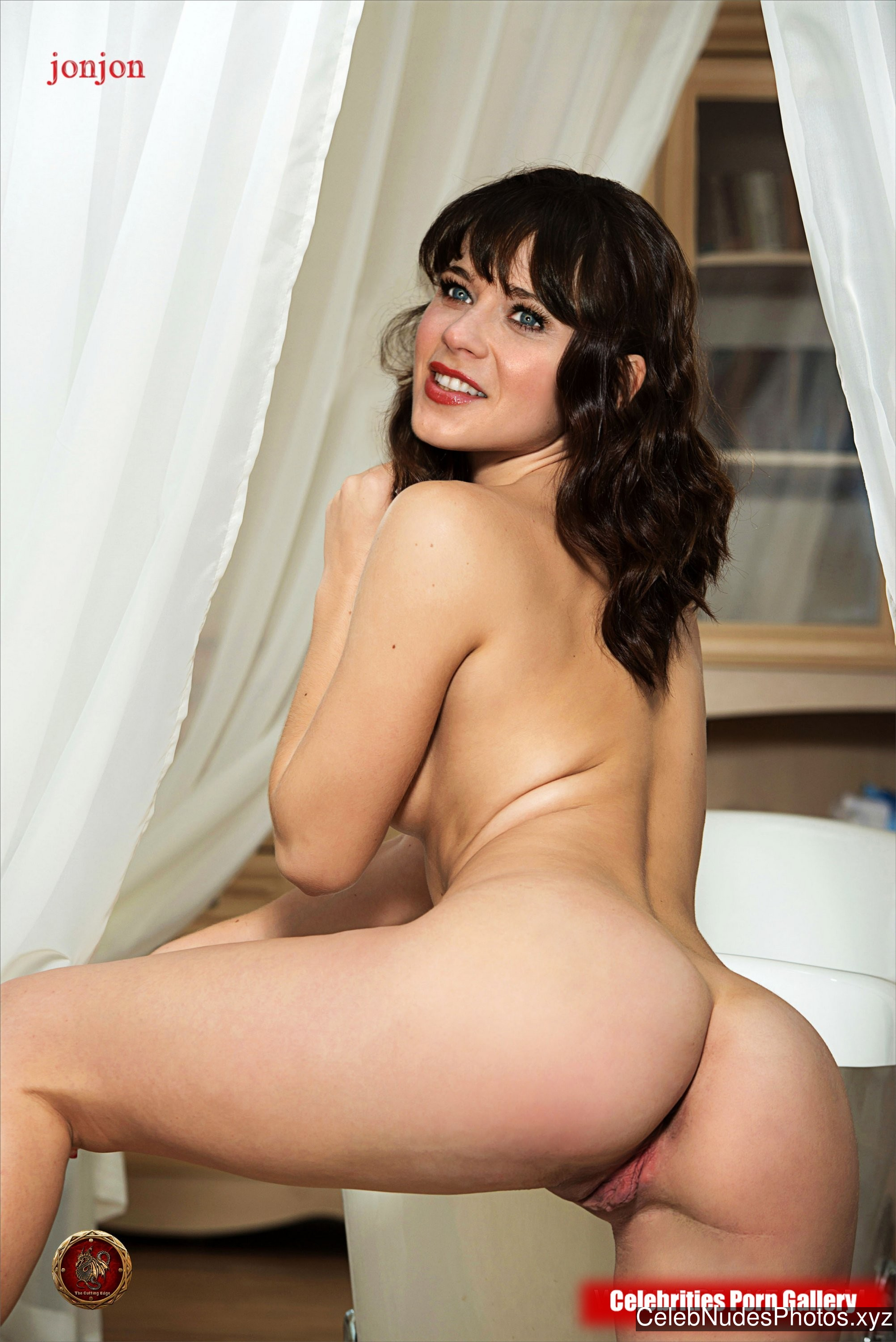 Zooey Deschanel Celebrity Leaked Nude Photo sexy 22
