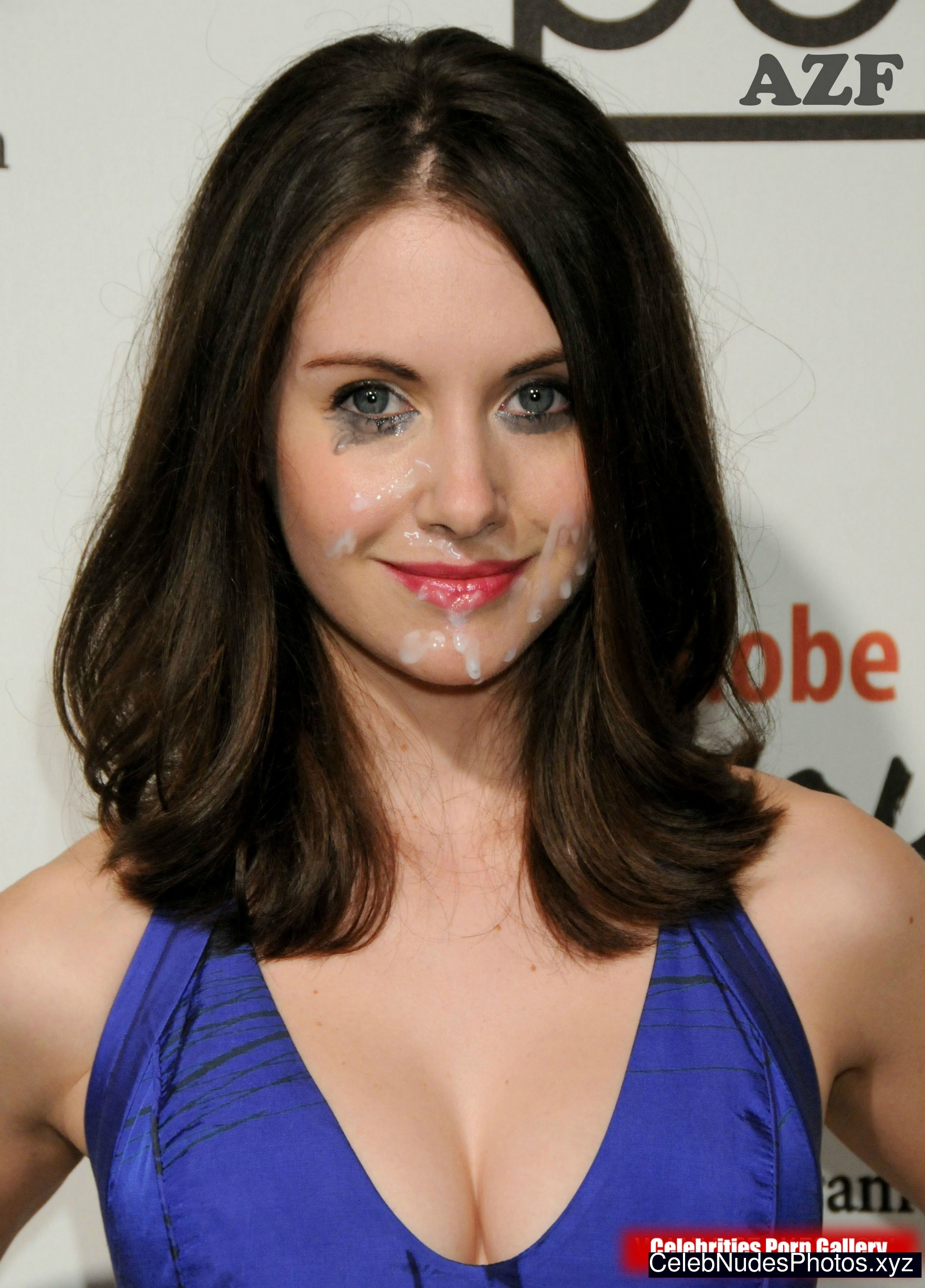 Alison Brie naked celebrities