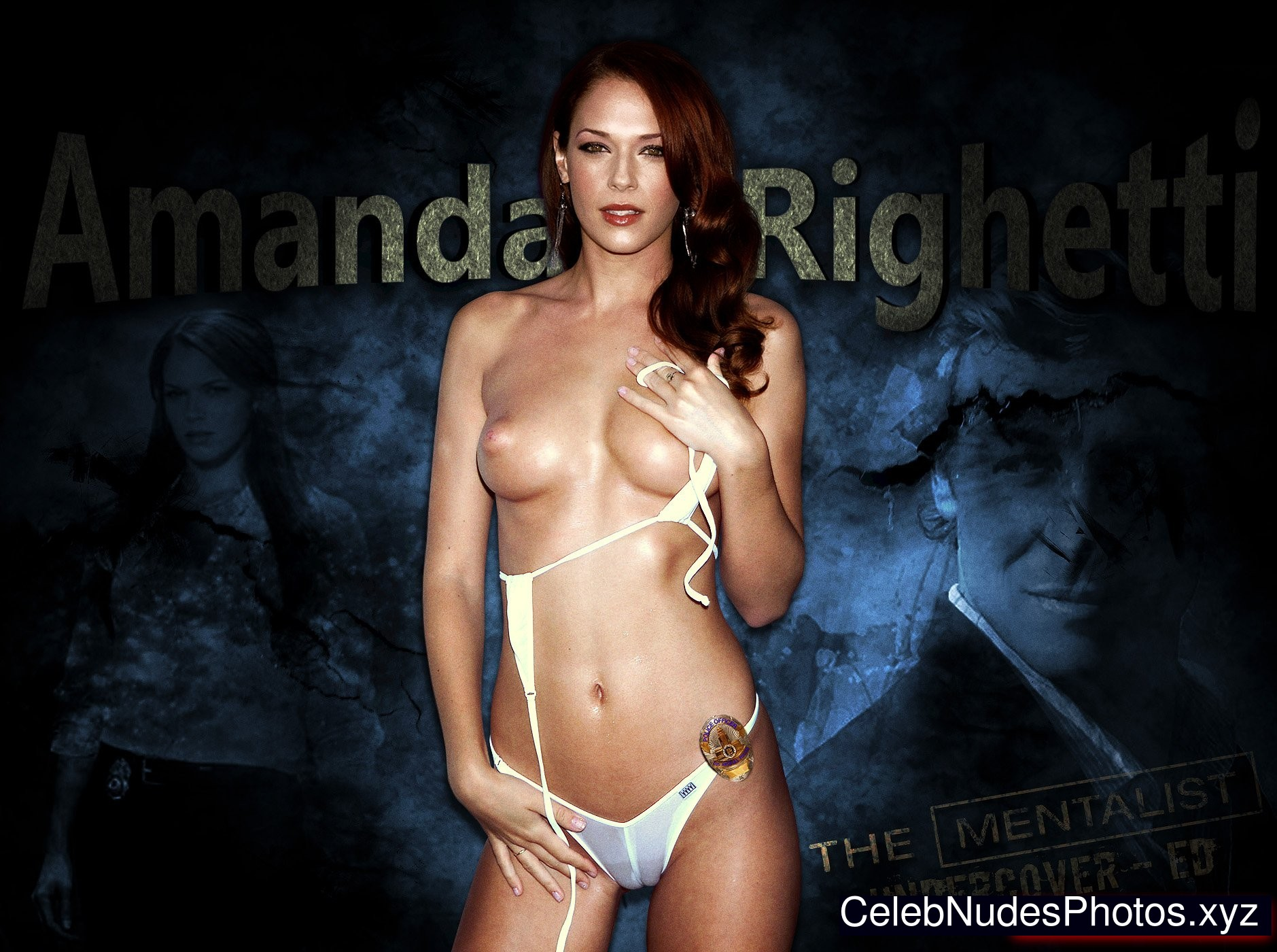 Amanda Righetti celebrities nude