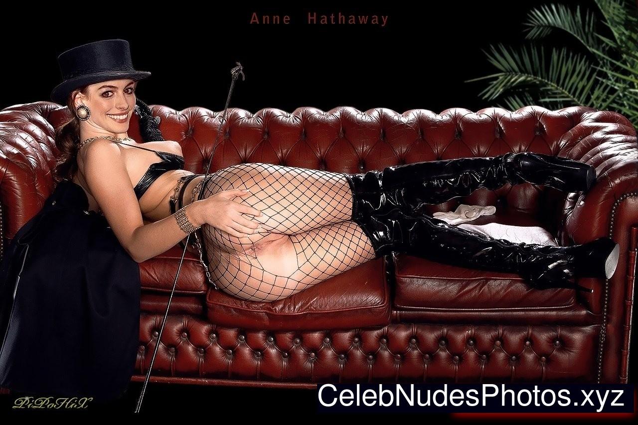 Anne Hathaway fake nude celebs