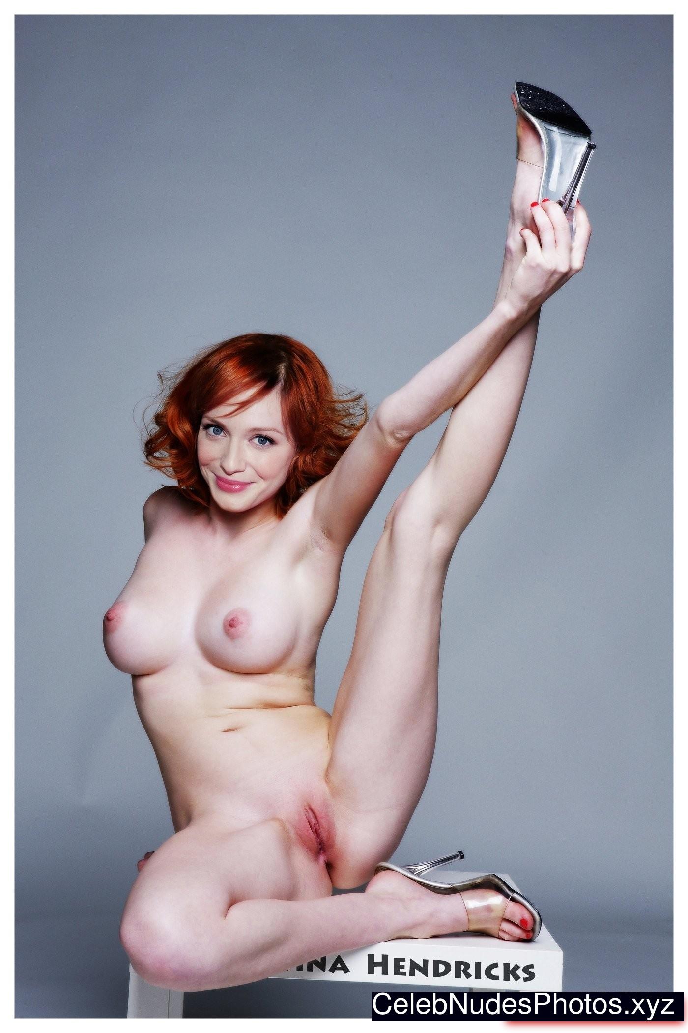 Christina Hendricks nude celeb