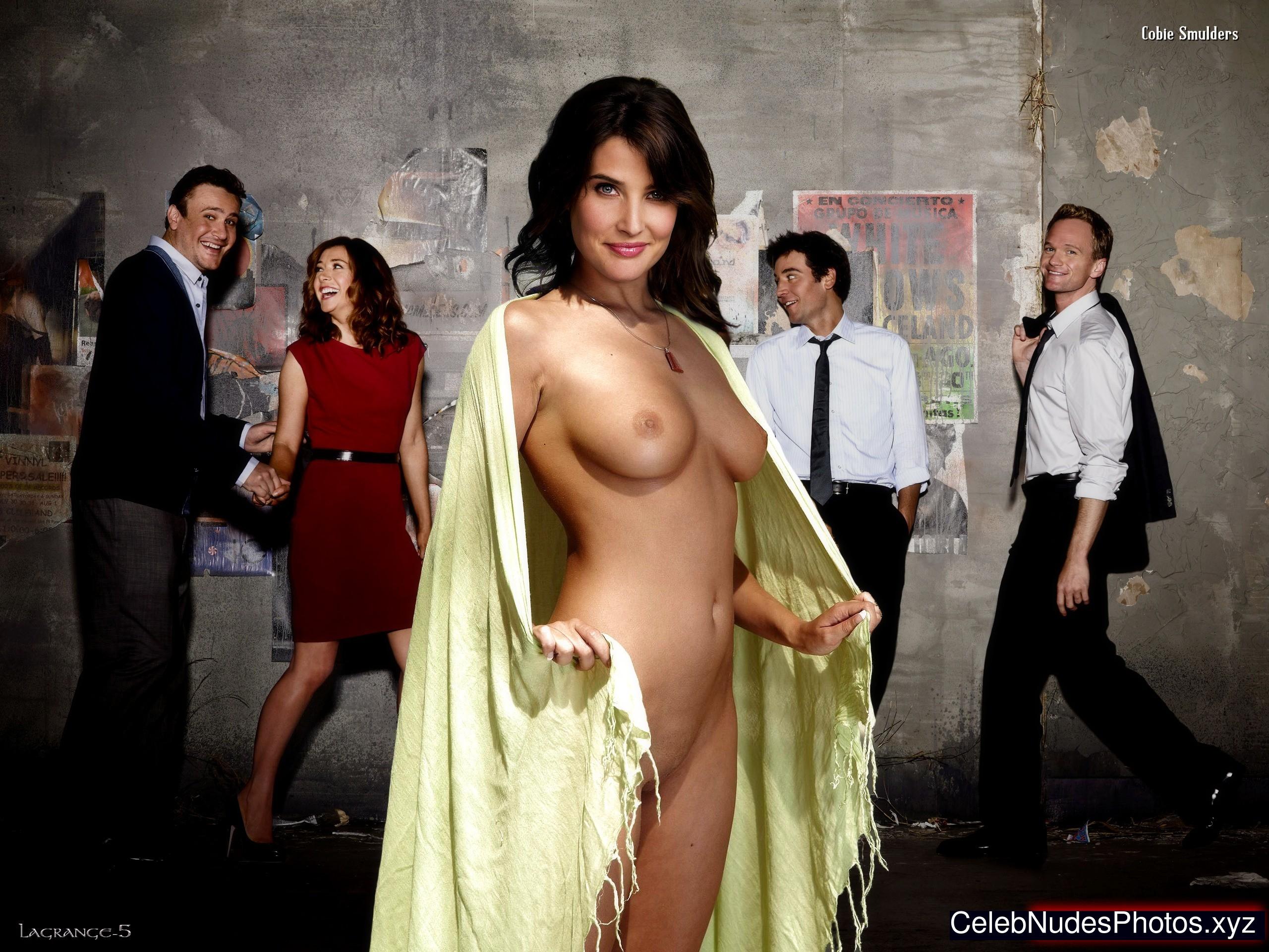 Cobie Smulders nude celeb