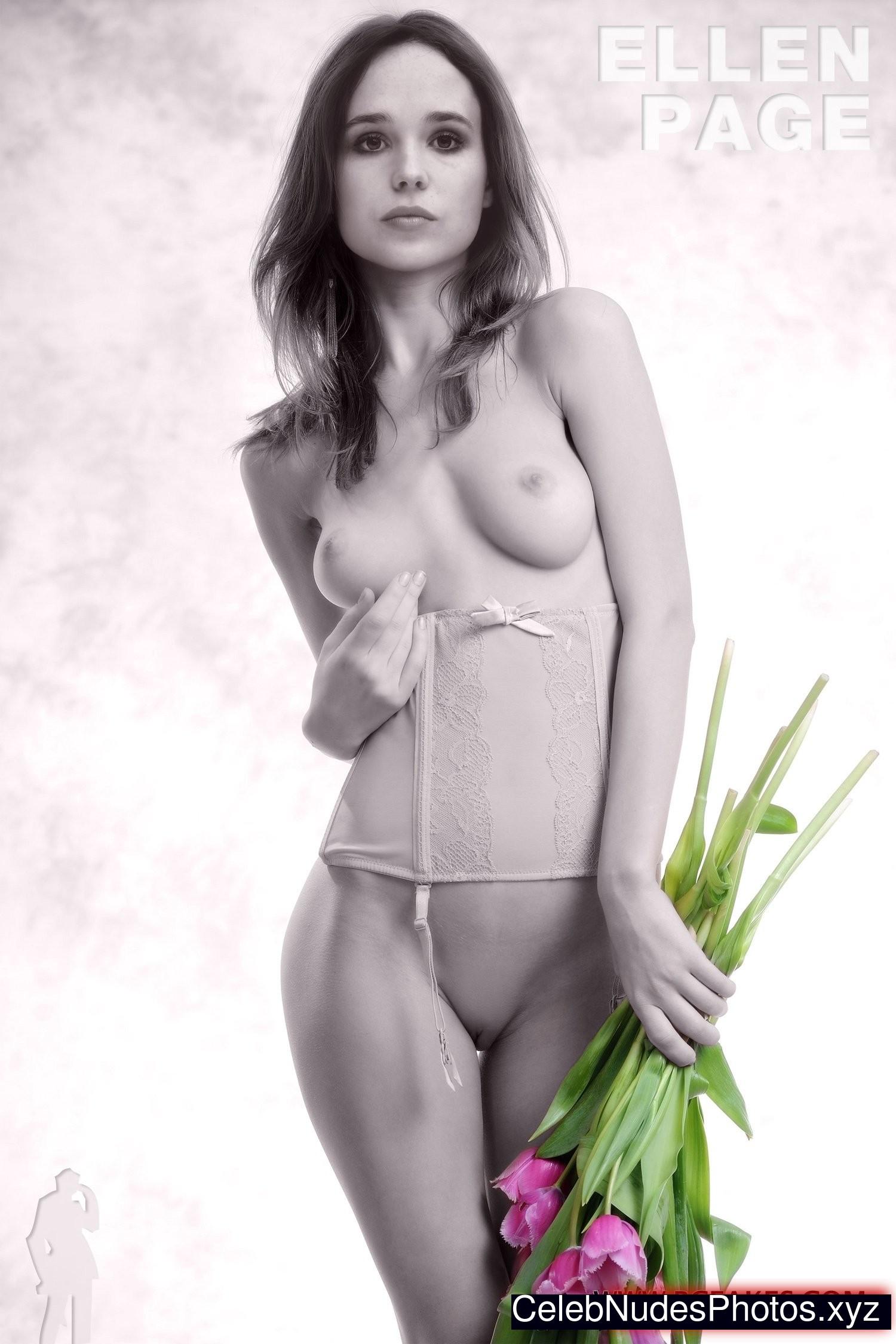 Ellen Page celebrities nude