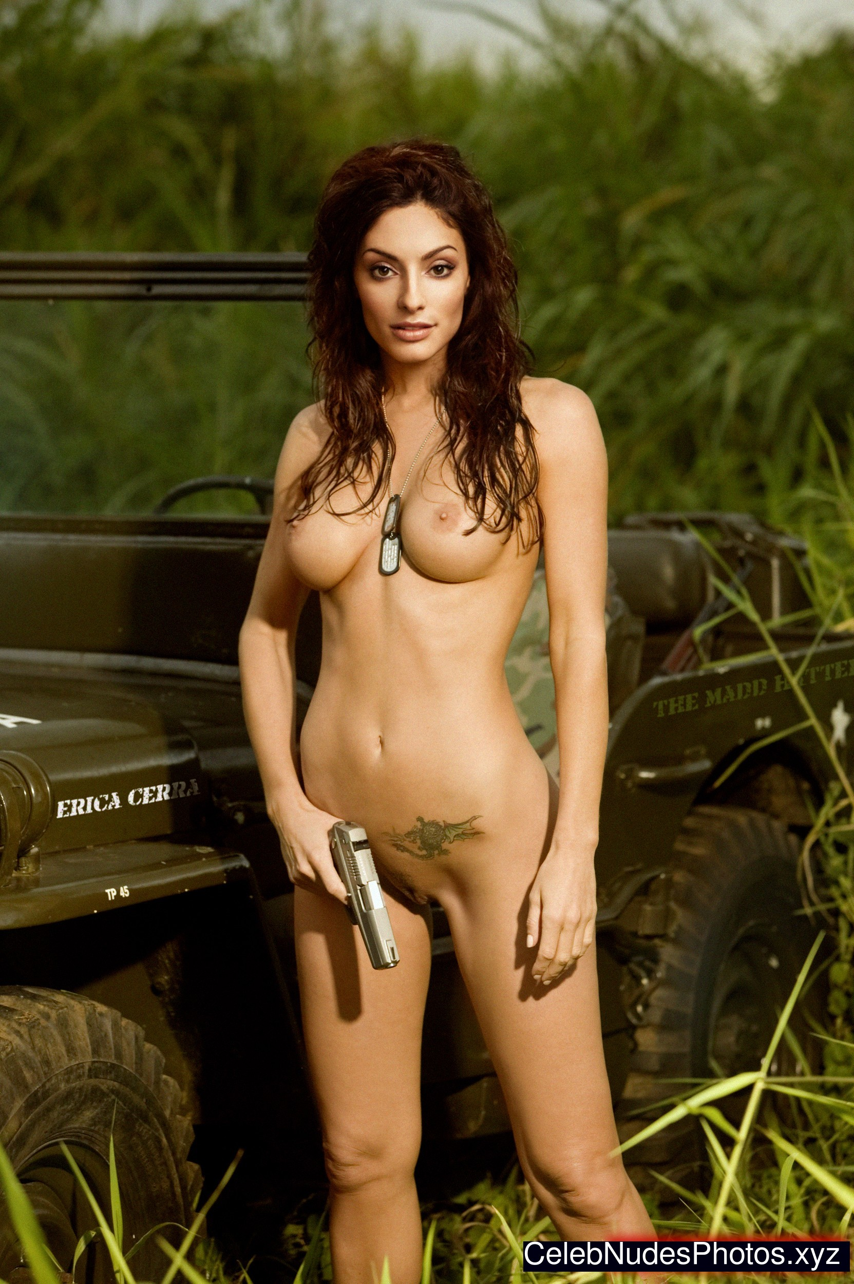 Erica Cerra naked celebrities