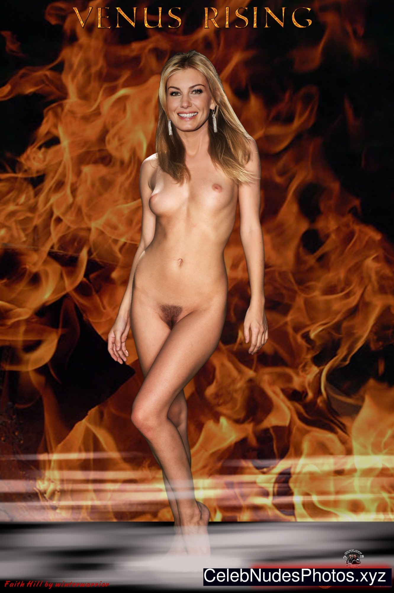 Faith Hill naked