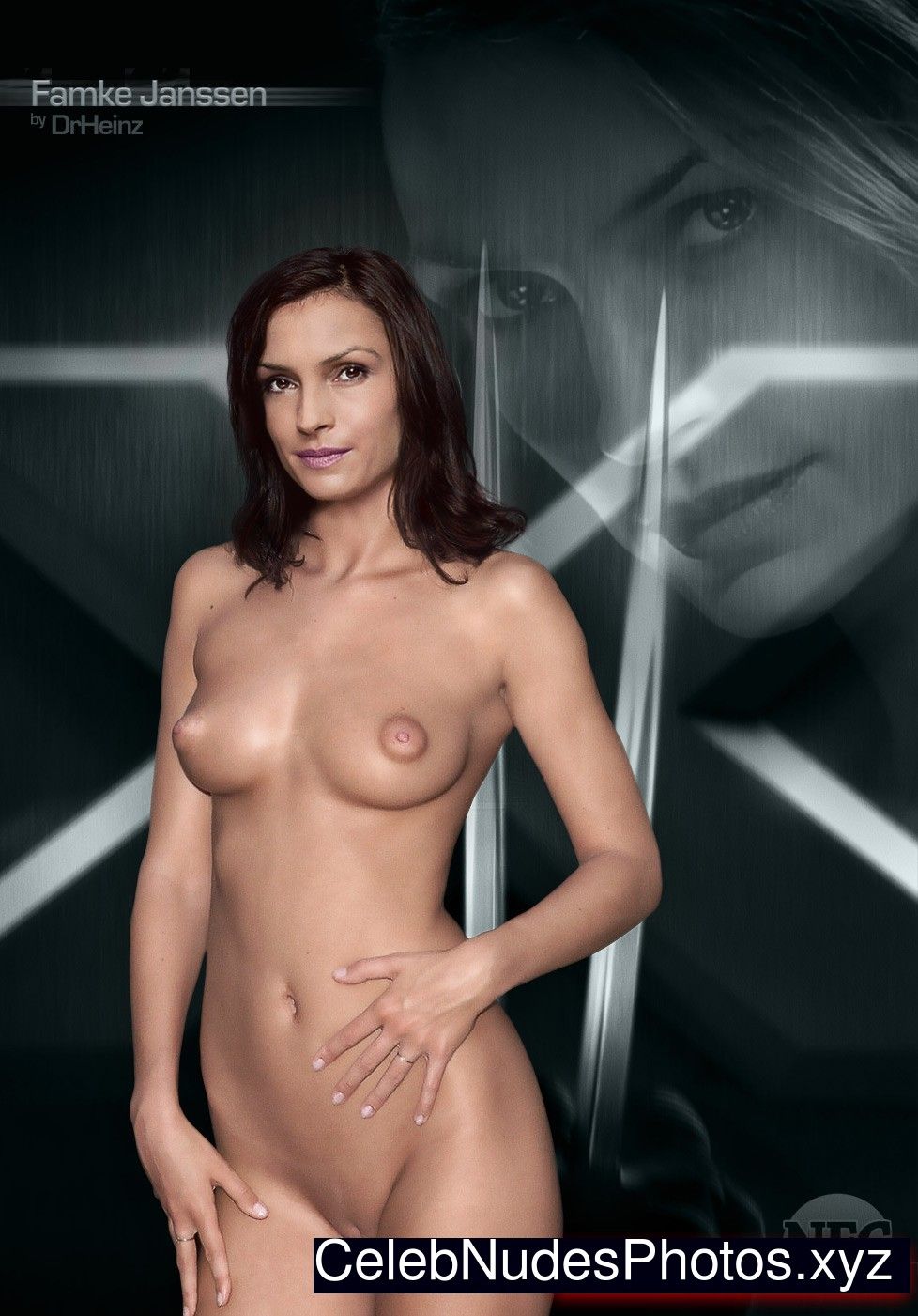 Famke Janssen nude celebrities