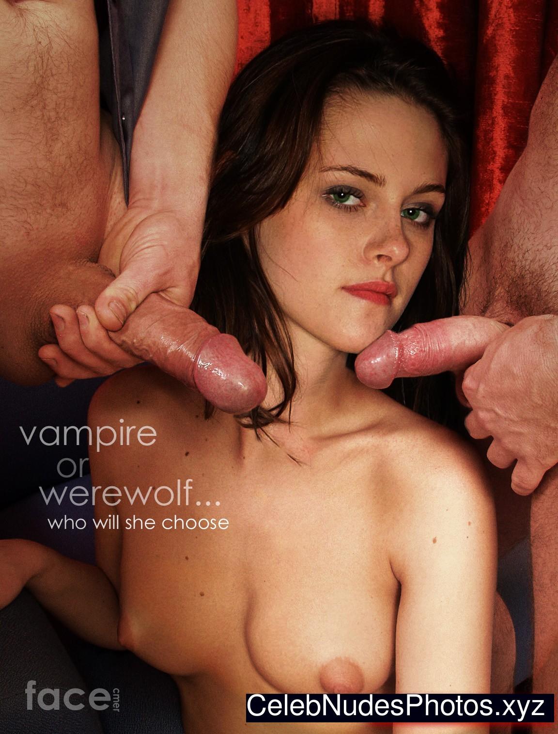 Kristen Stewart fake nude celebs