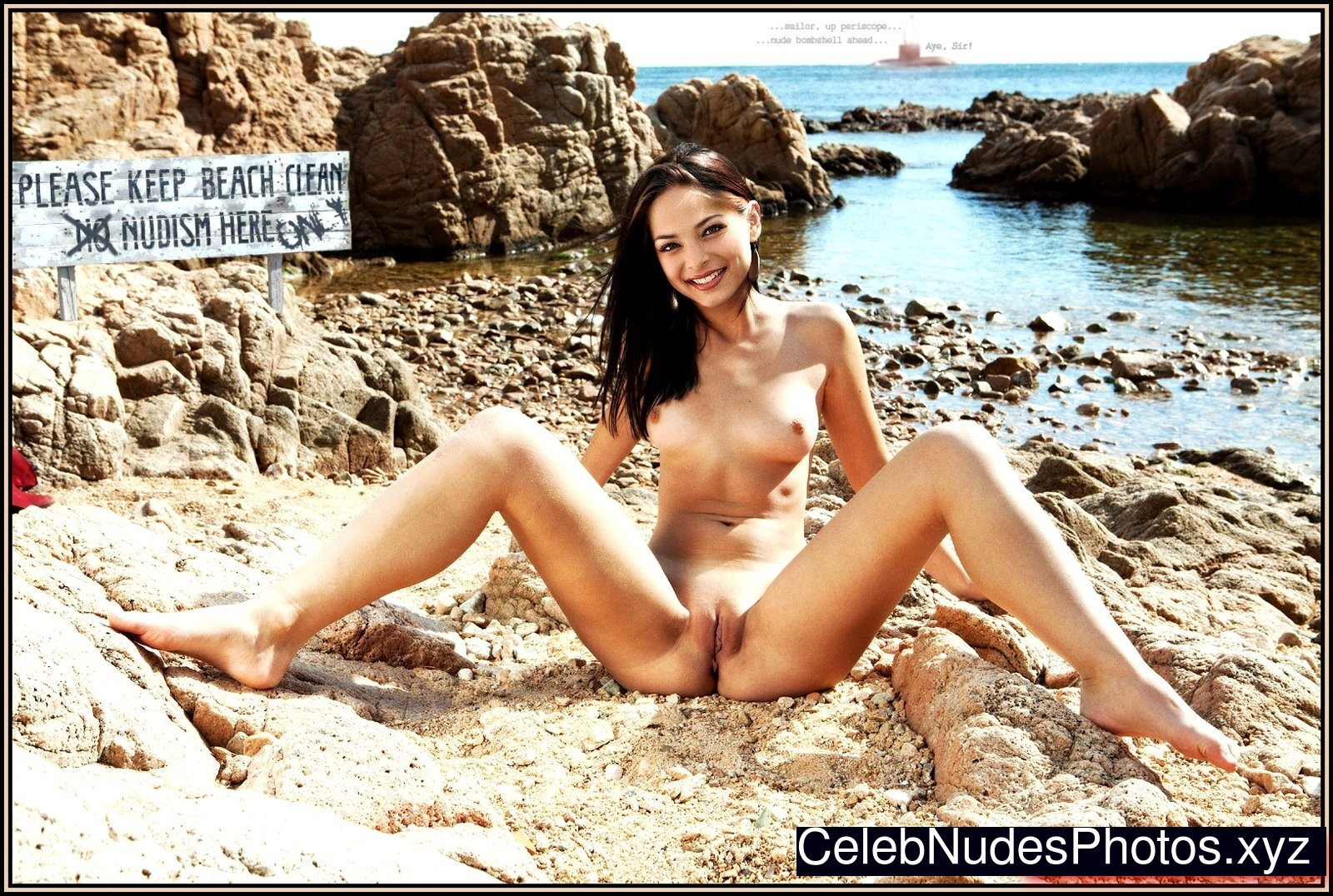 Kristin Kreuk nude celebrity pictures