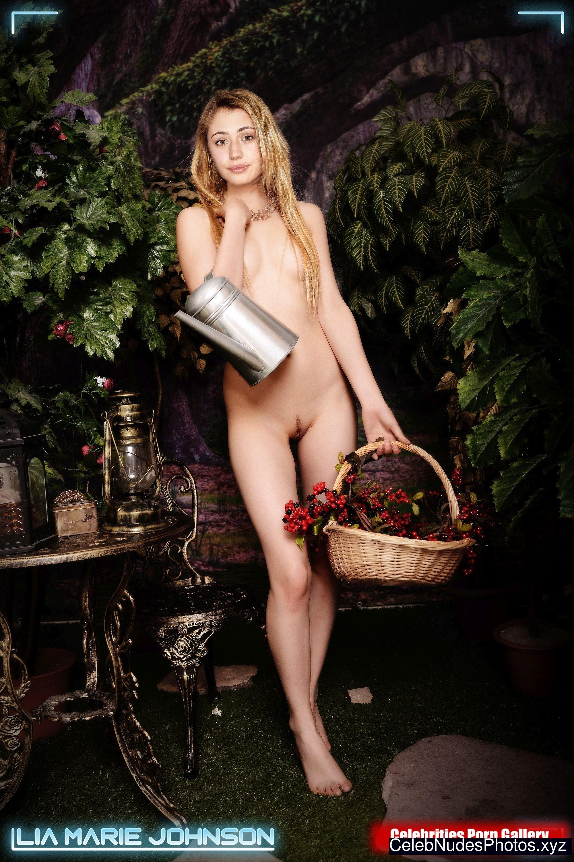 Lia Marie Johnson celebrity naked pics