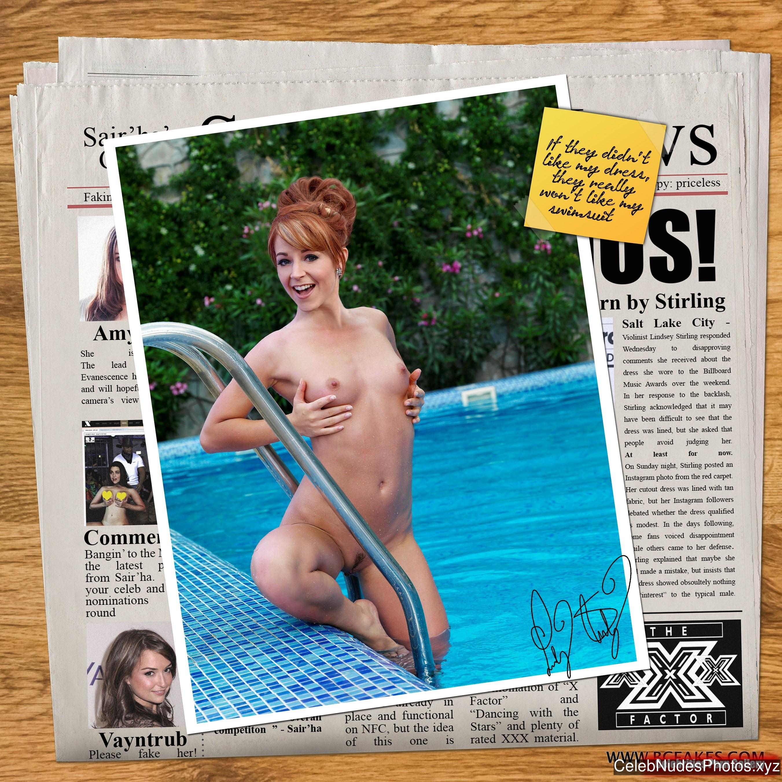Lindsey Stirling nude celebs