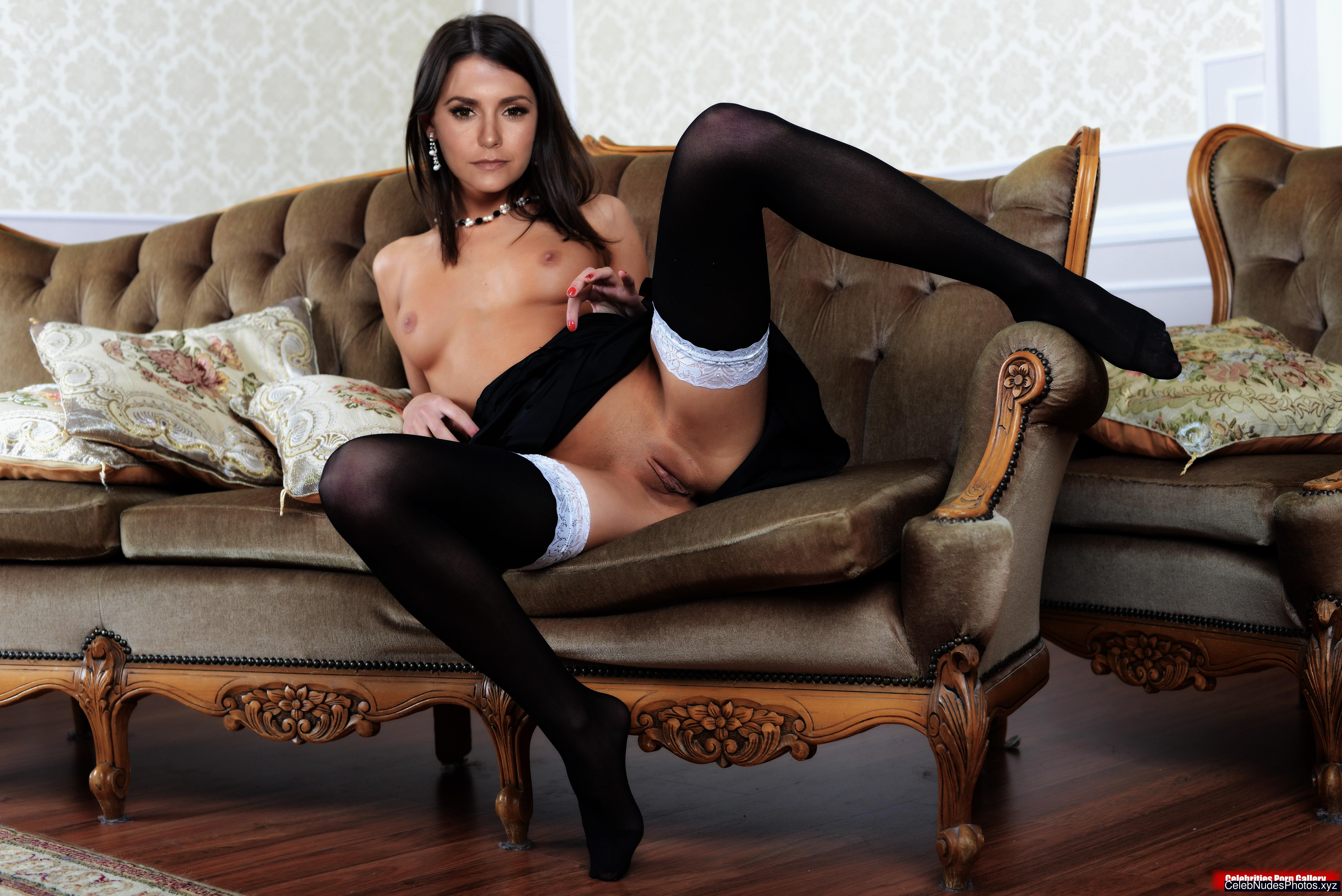 Nina Dobrev fake nude celebs